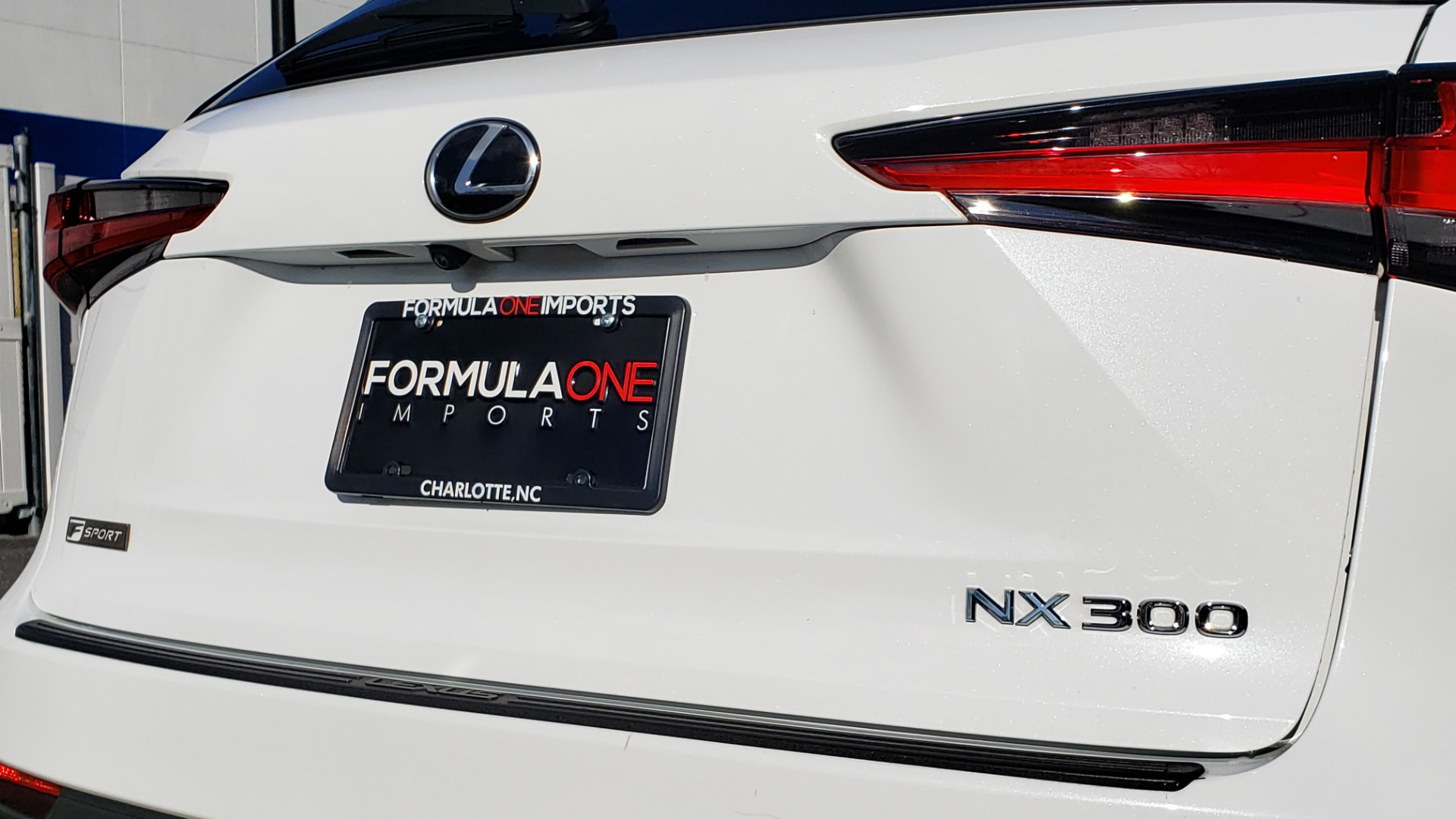Used 2019 Lexus NX 300 F-SPORT / 2.0L TURBO / LEATHER / 18IN WHEELS / REARVIEW for sale Sold at Formula Imports in Charlotte NC 28227 34