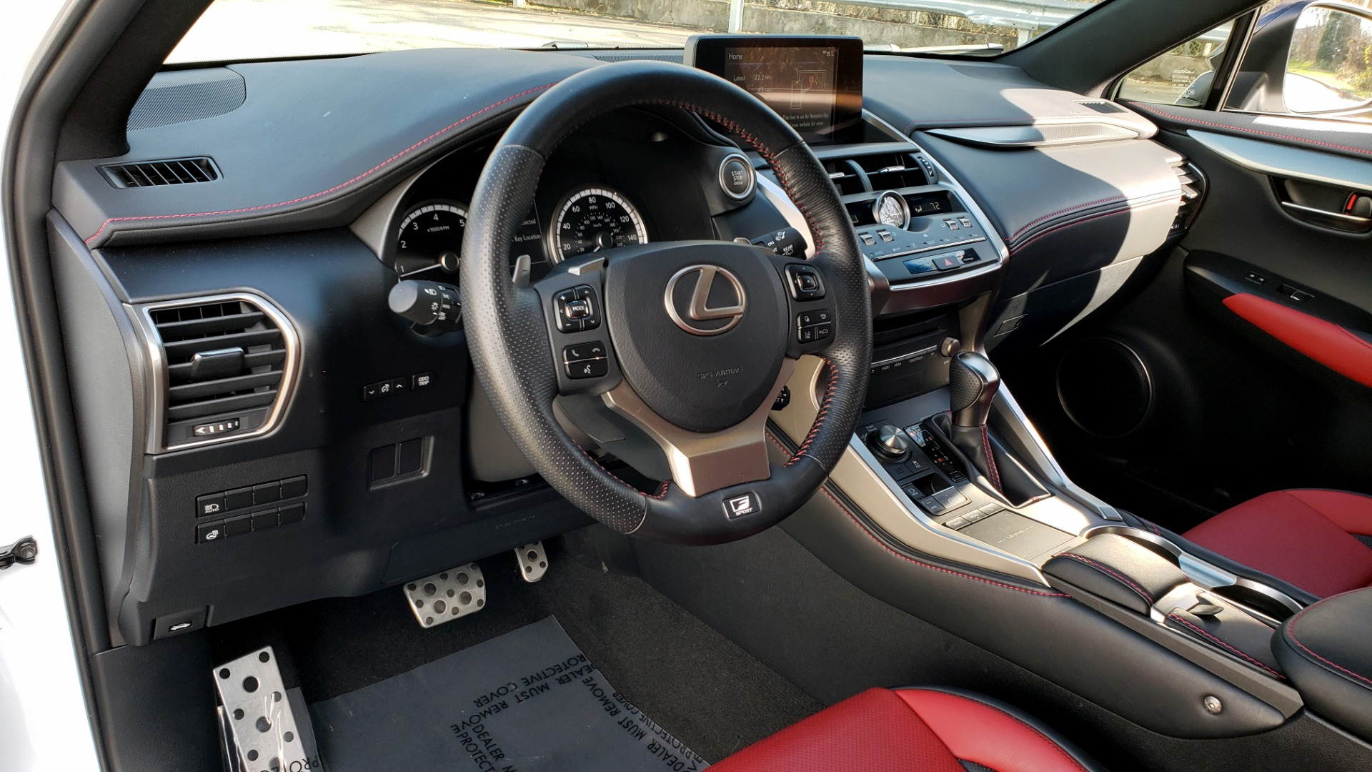 Used 2019 Lexus NX 300 F-SPORT / 2.0L TURBO / LEATHER / 18IN WHEELS / REARVIEW for sale $31,195 at Formula Imports in Charlotte NC 28227 39