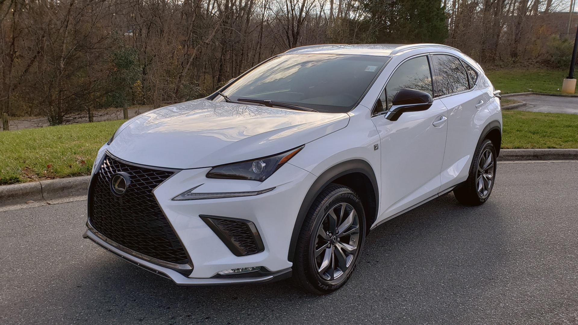 Used 2019 Lexus NX 300 F-SPORT / 2.0L TURBO / LEATHER / 18IN WHEELS / REARVIEW for sale $31,195 at Formula Imports in Charlotte NC 28227 1