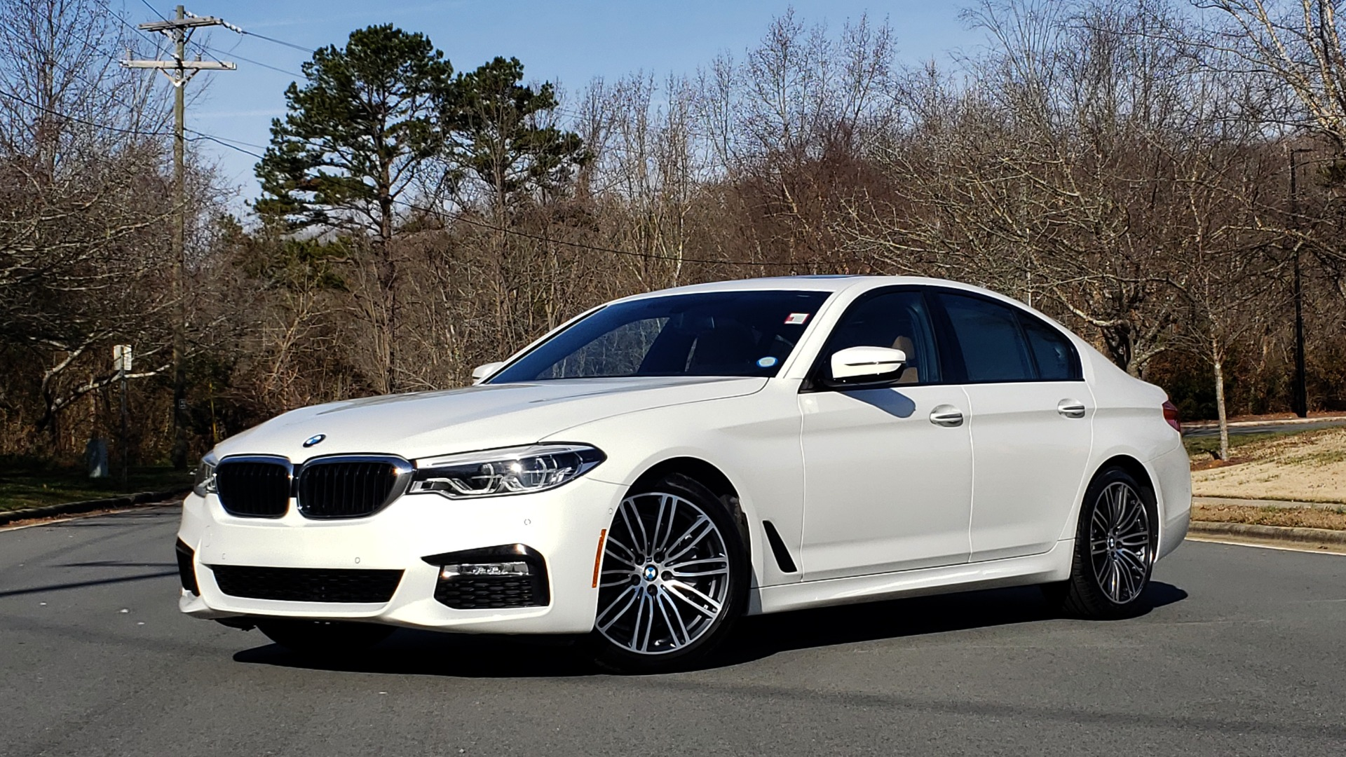 Used 2017 BMW 5 SERIES 540I PREMIUM / M-SPORT / PDC / APPLE CAR PLAY / WIFI for sale Sold at Formula Imports in Charlotte NC 28227 1