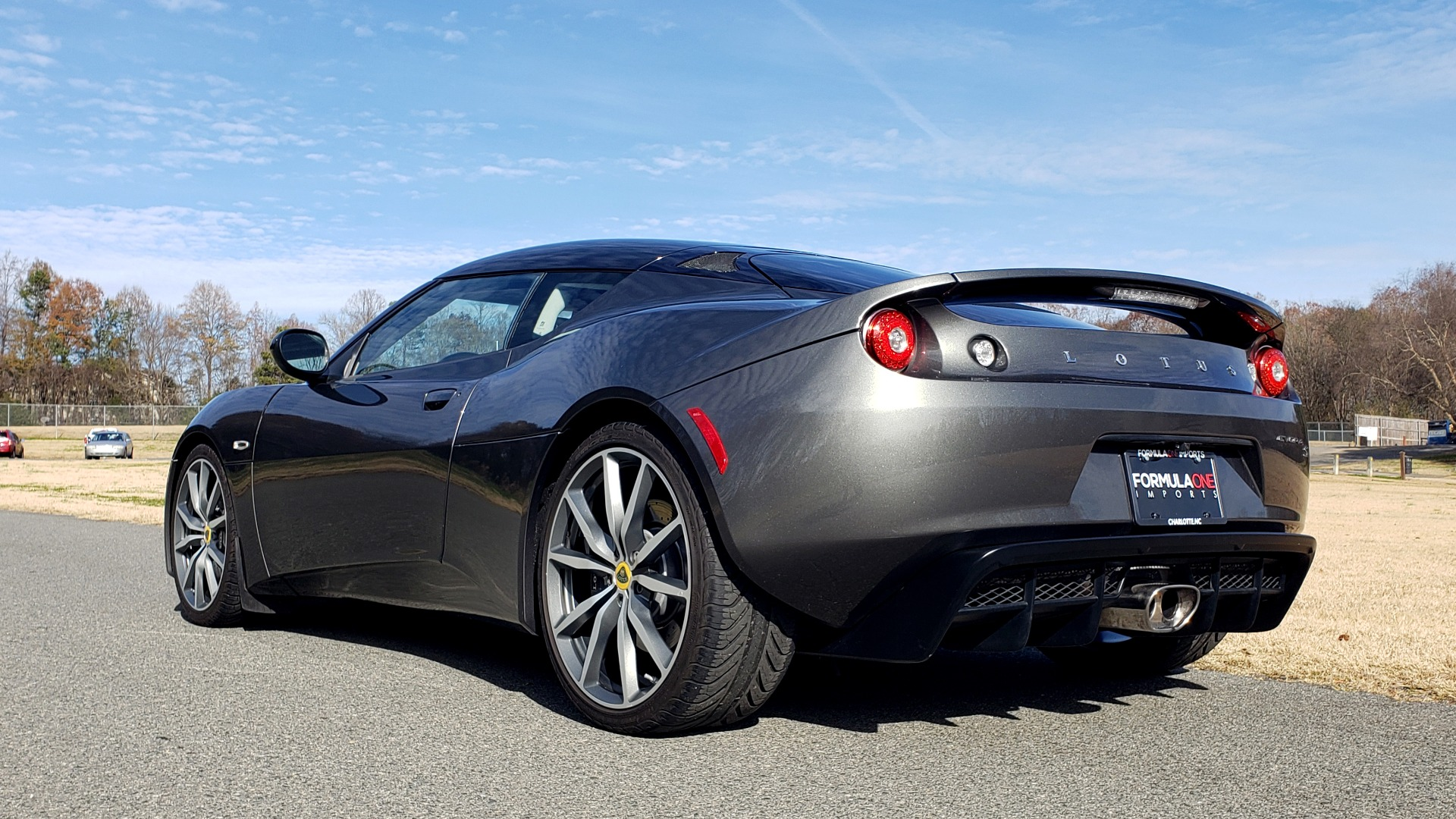 Used 2011 Lotus EVORA S 2+2 / 3.5L V6 / 6-SPD MANUAL / PIONEER / REARVIEW / LOW MILES for sale Sold at Formula Imports in Charlotte NC 28227 6