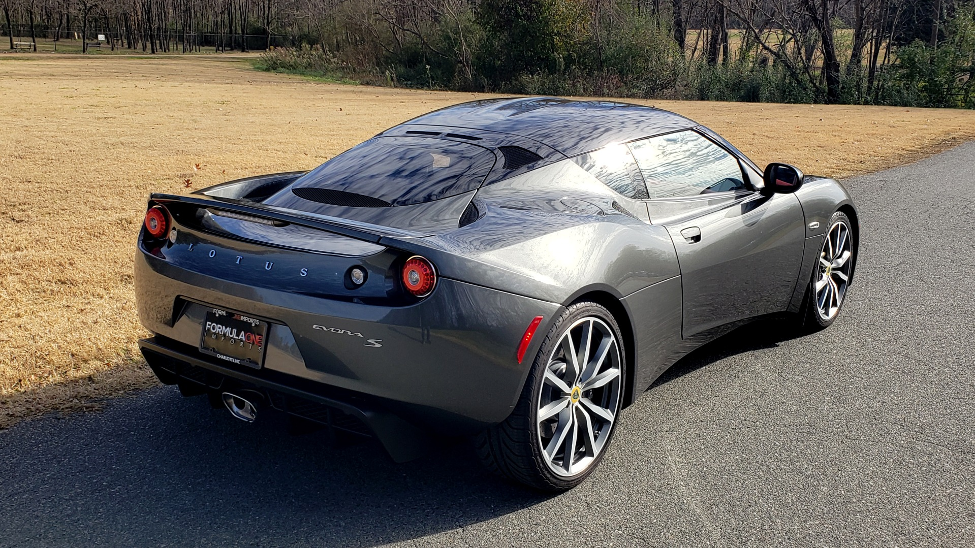 Used 2011 Lotus EVORA S 2+2 / 3.5L V6 / 6-SPD MANUAL / PIONEER / REARVIEW / LOW MILES for sale Sold at Formula Imports in Charlotte NC 28227 7