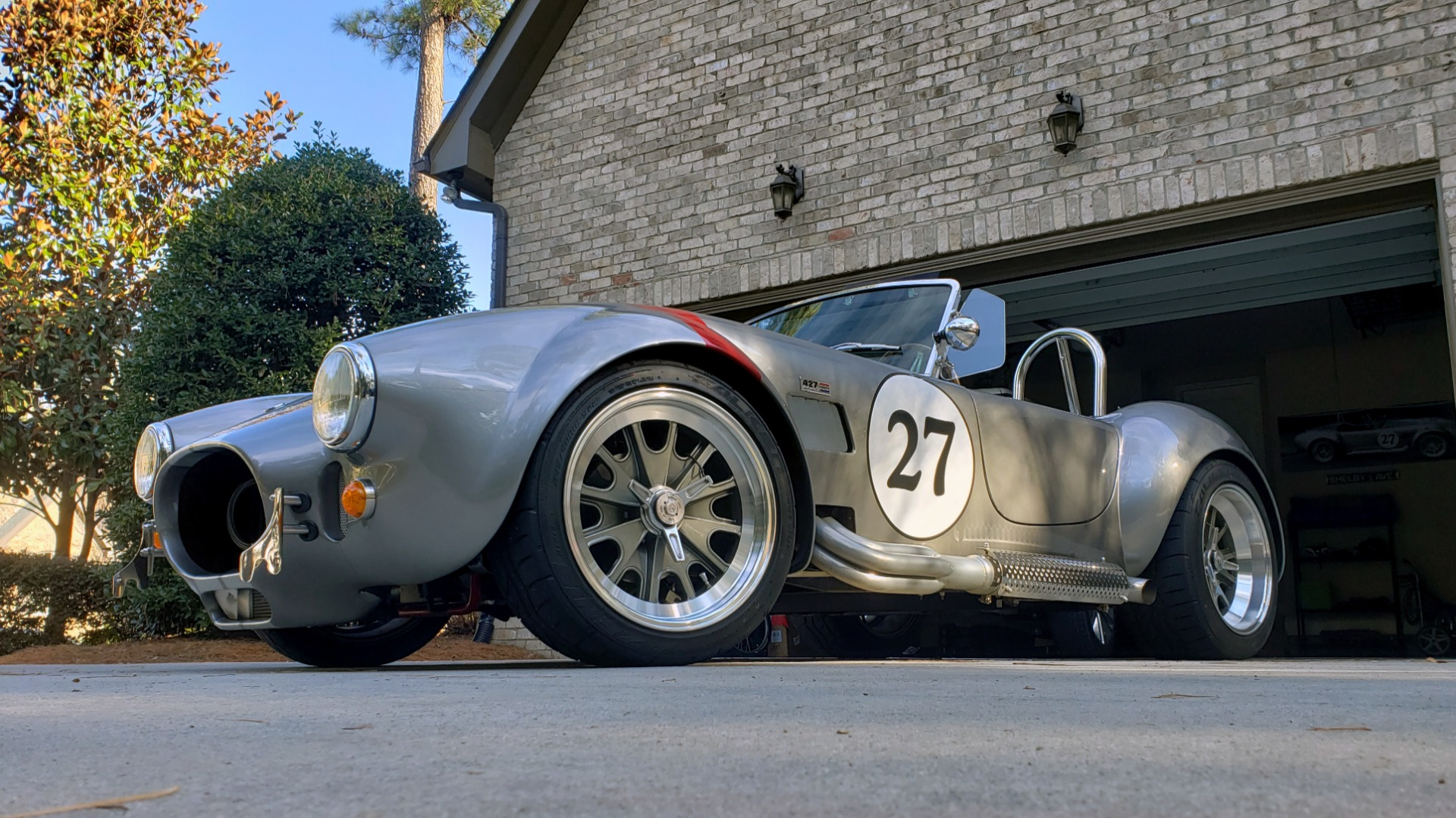 Used 1965 Ford COBRA 427 ROADSTER BY BACKDRAFT RACING ROUSH 553HP V8 / TREMEC 6-SPD / PWR STRNG for sale $74,999 at Formula Imports in Charlotte NC 28227 10