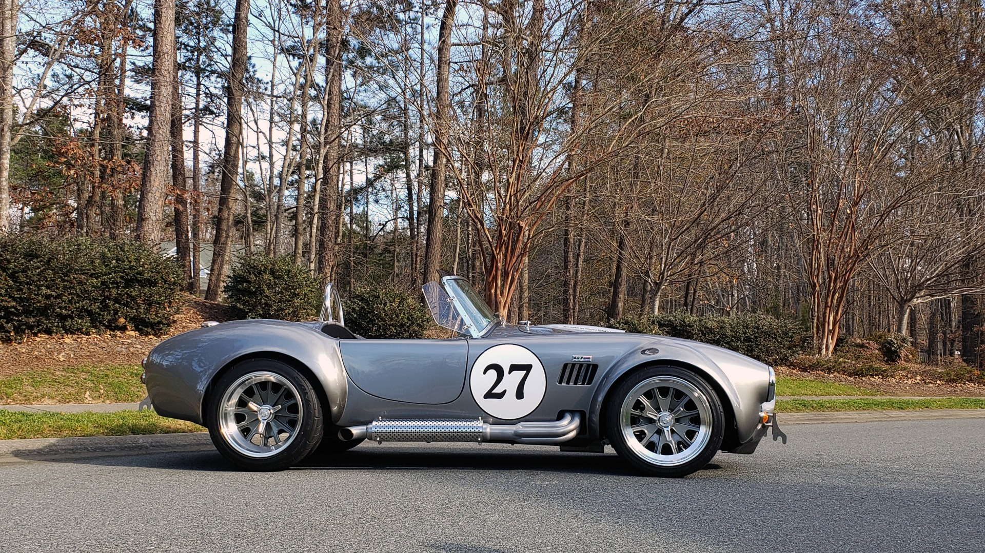 Used 1965 Ford COBRA 427 ROADSTER BY BACKDRAFT RACING ROUSH 553HP V8 / TREMEC 6-SPD / PWR STRNG for sale $74,999 at Formula Imports in Charlotte NC 28227 5