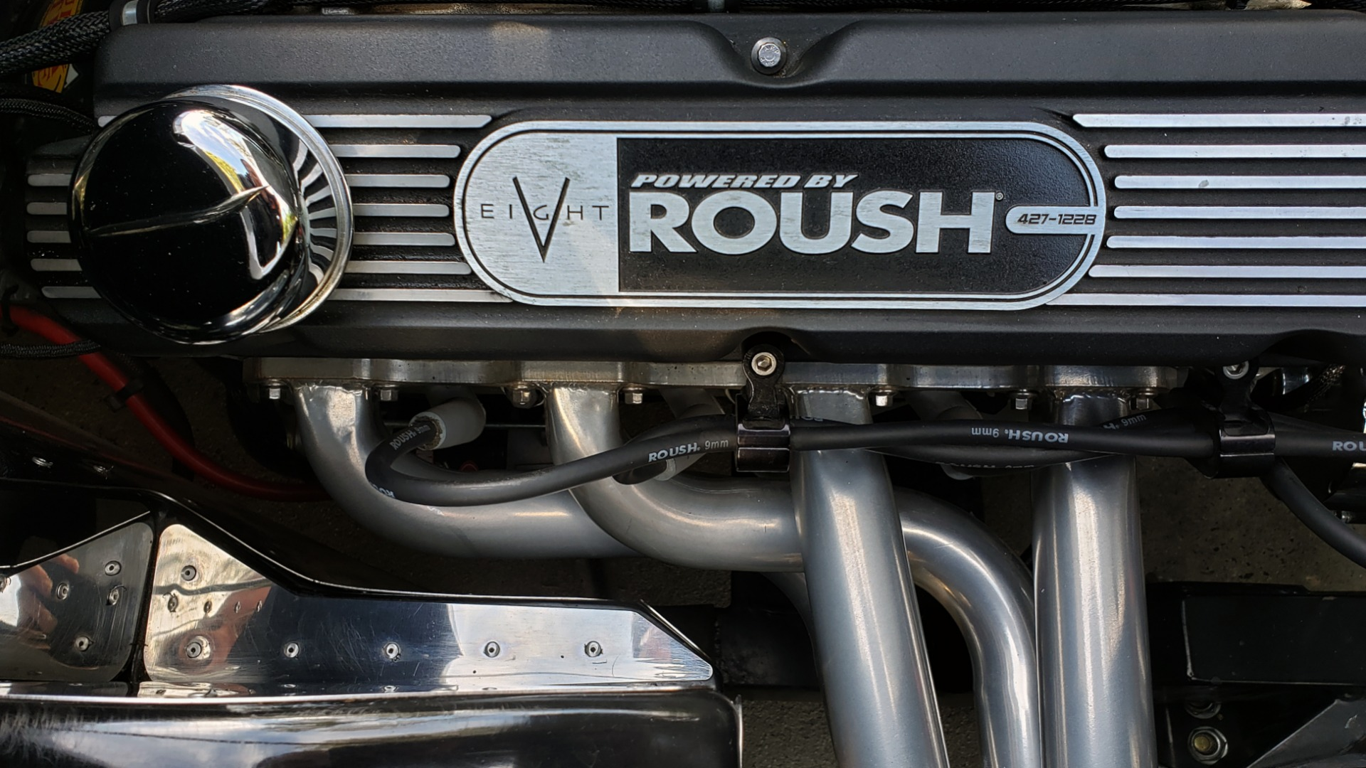 Used 1965 Ford COBRA 427 ROADSTER BY BRACKDRAFT RACING ROUSH 553HP V8 / TREMEC 6-SPD / PWR STRNG for sale $74,999 at Formula Imports in Charlotte NC 28227 50