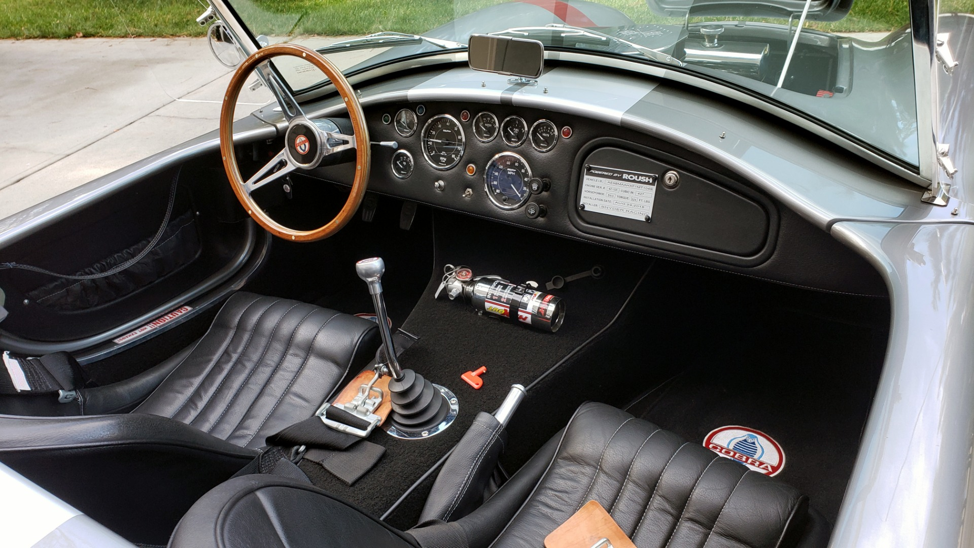 Used 1965 Ford COBRA 427 ROADSTER BY BRACKDRAFT RACING ROUSH 553HP V8 / TREMEC 6-SPD / PWR STRNG for sale $74,999 at Formula Imports in Charlotte NC 28227 61