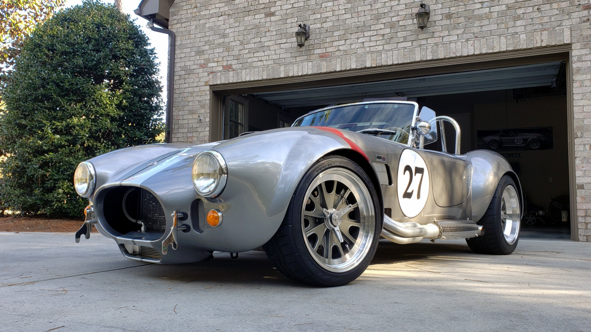 Used 1965 Ford COBRA 427 ROADSTER BY BRACKDRAFT RACING ROUSH 553HP V8 / TREMEC 6-SPD / PWR STRNG for sale $74,999 at Formula Imports in Charlotte NC 28227 9
