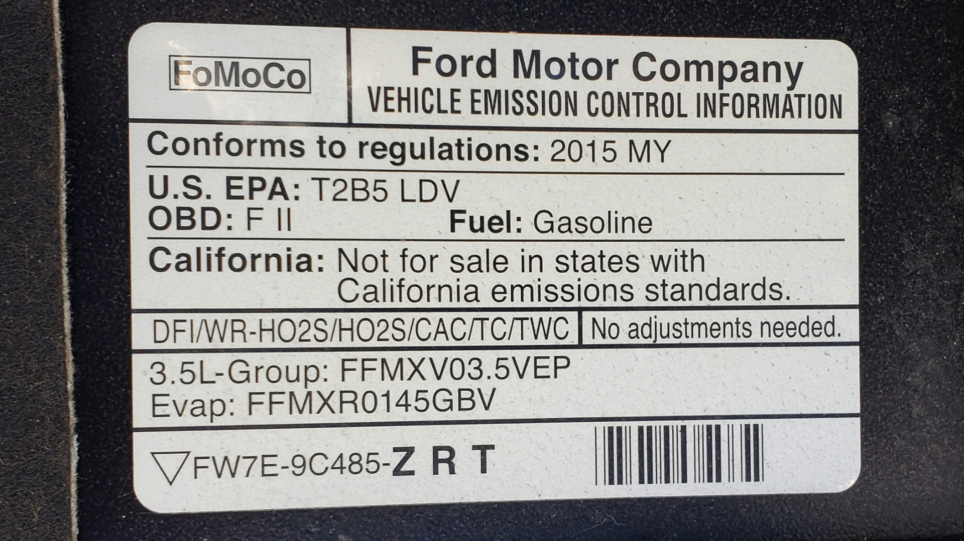 Used 2015 Ford TAURUS SHO 3.5L ECOBOOST V6 / NAV / SUNROOF / HTD STS / BSM / REARVIEW for sale Sold at Formula Imports in Charlotte NC 28227 15