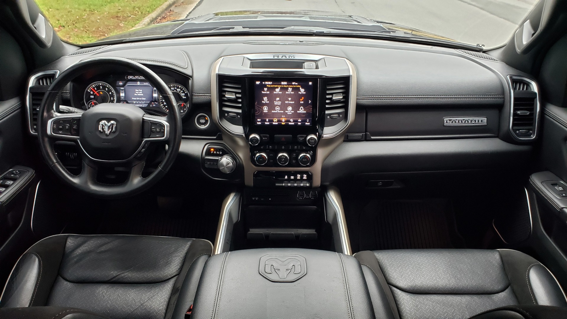 Used 2019 Ram 1500 LARAMIE SPORT / 2WD / 5.7L HEMI / NAV / BLIND SPOT / HTD STS / REARVIEW for sale Sold at Formula Imports in Charlotte NC 28227 95