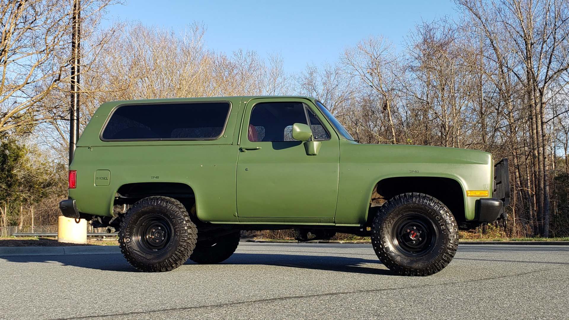Used 1985 Chevrolet BLAZER D10 MILITARY SUV / 4X4 / 6.2L DIESEL V8 / VINTAGE AIR for sale $15,000 at Formula Imports in Charlotte NC 28227 12