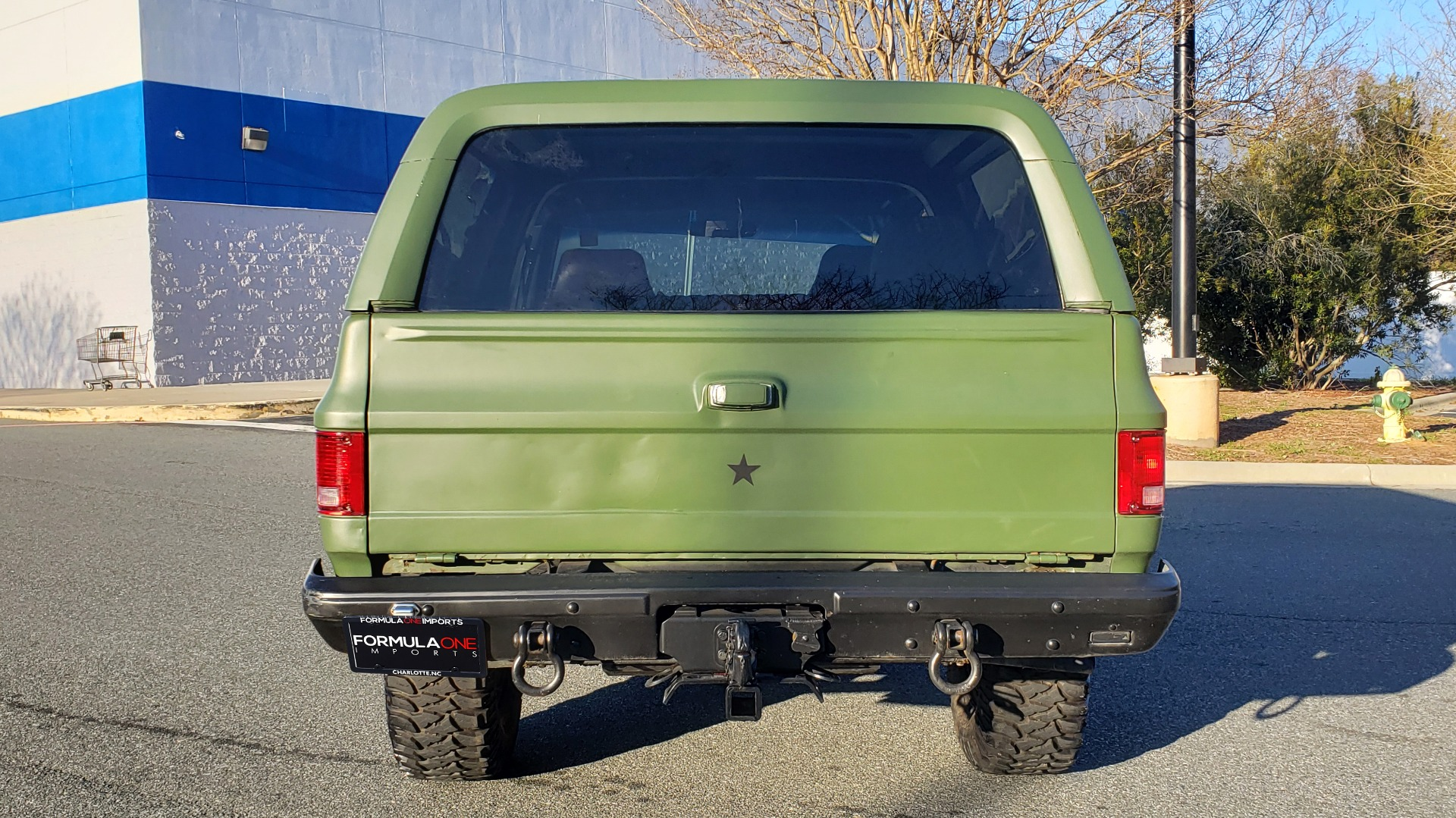 Used 1985 Chevrolet BLAZER D10 MILITARY SUV / 4X4 / 6.2L DIESEL V8 / VINTAGE AIR for sale $15,000 at Formula Imports in Charlotte NC 28227 14