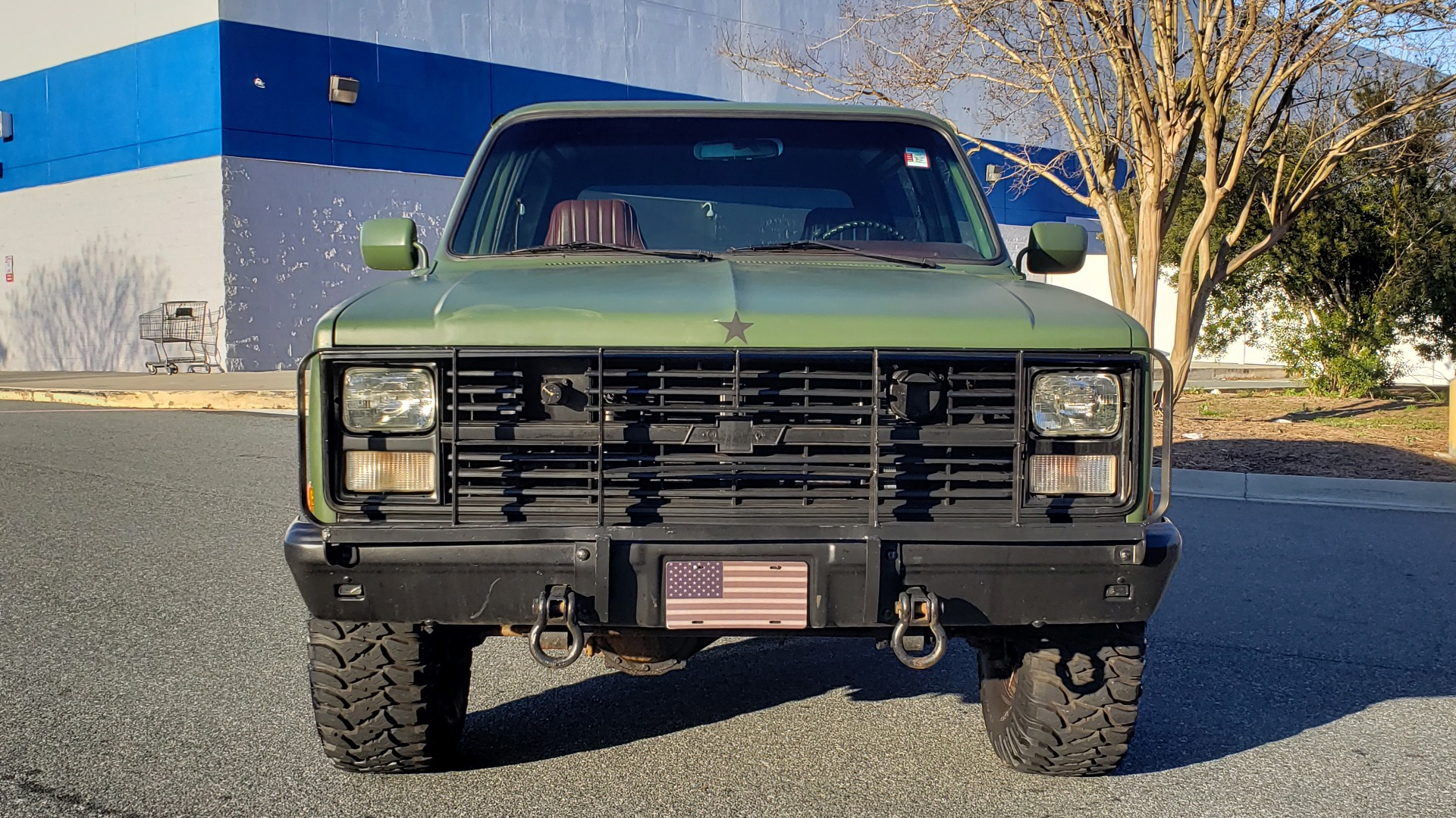 Used 1985 Chevrolet BLAZER D10 MILITARY SUV / 4X4 / 6.2L DIESEL V8 / VINTAGE AIR for sale $15,000 at Formula Imports in Charlotte NC 28227 15