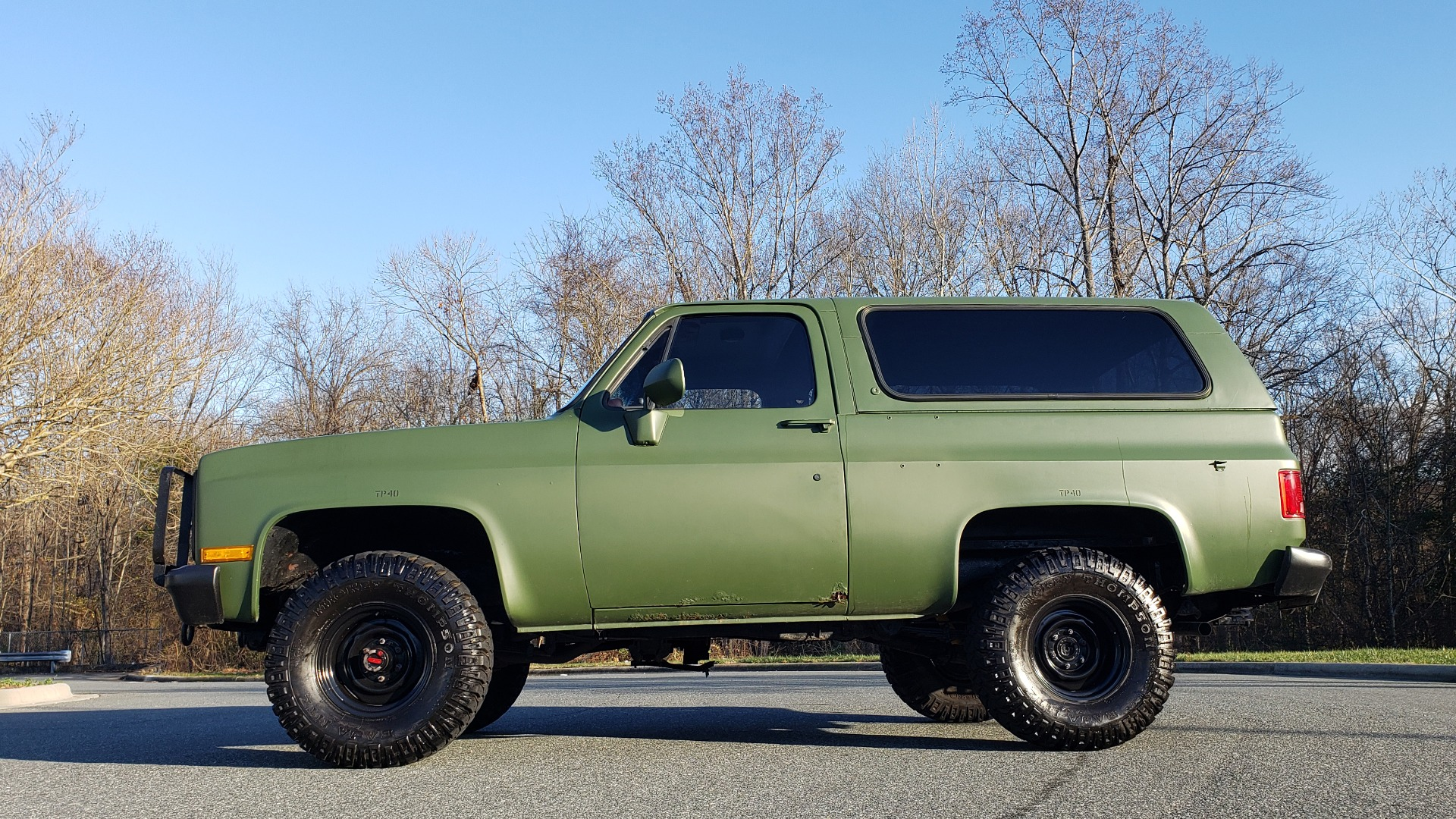 Used 1985 Chevrolet BLAZER D10 MILITARY SUV / 4X4 / 6.2L DIESEL V8 / VINTAGE AIR for sale $15,000 at Formula Imports in Charlotte NC 28227 2