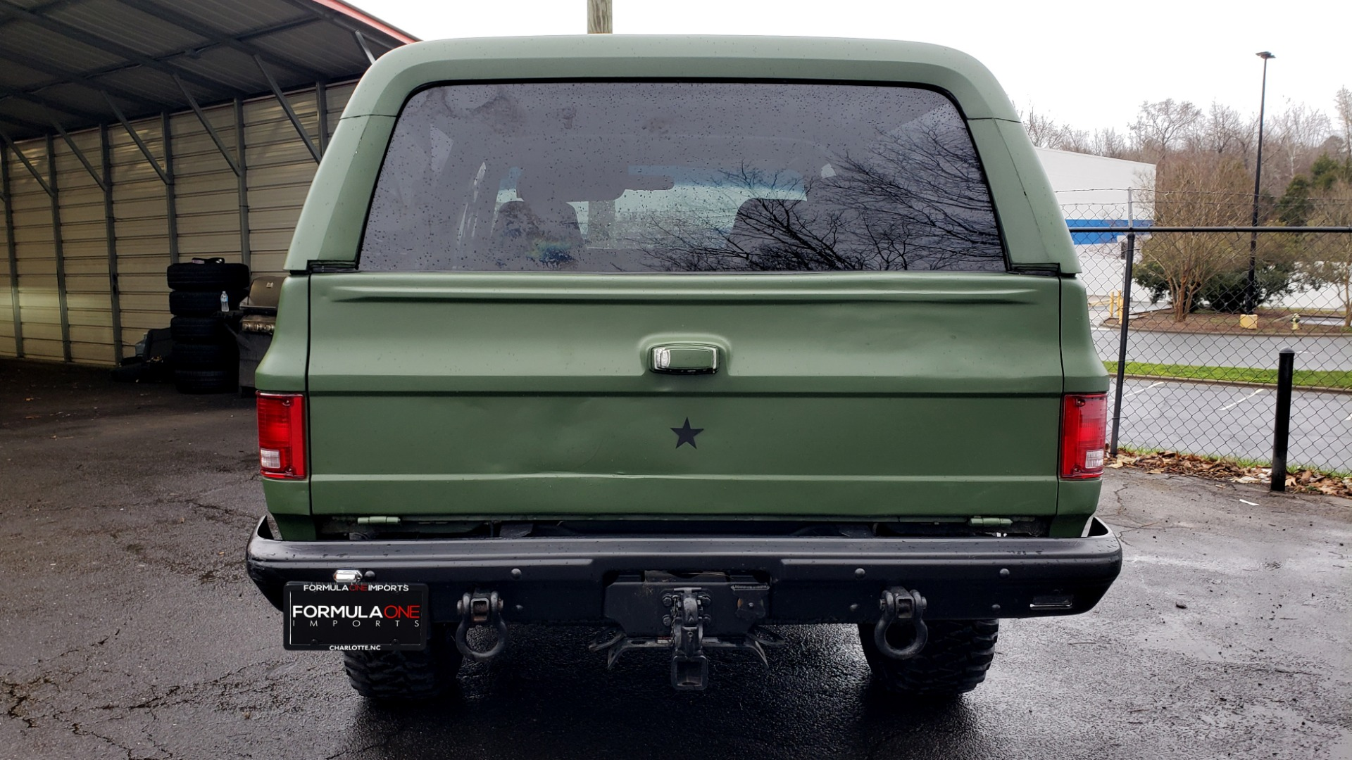 Used 1985 Chevrolet BLAZER D10 MILITARY SUV / 4X4 / 6.2L DIESEL V8 / VINTAGE AIR for sale $15,000 at Formula Imports in Charlotte NC 28227 20