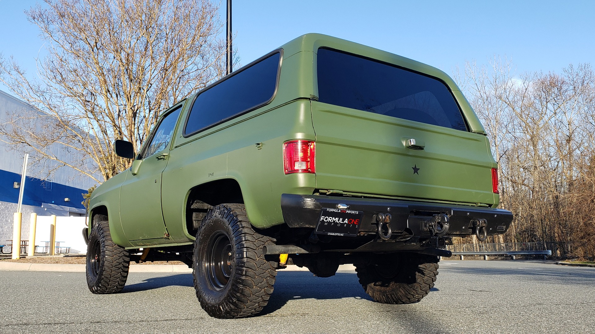 Used 1985 Chevrolet BLAZER D10 MILITARY SUV / 4X4 / 6.2L DIESEL V8 / VINTAGE AIR for sale $15,000 at Formula Imports in Charlotte NC 28227 3