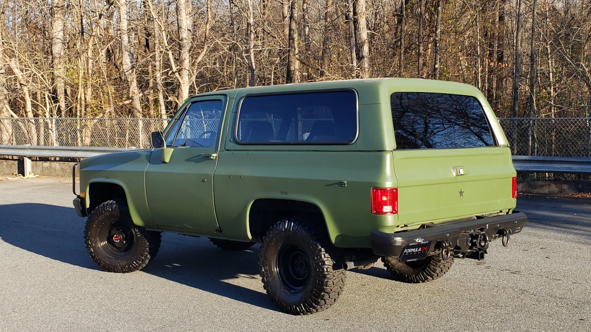 Used 1985 Chevrolet BLAZER D10 MILITARY SUV / 4X4 / 6.2L DIESEL V8 / VINTAGE AIR for sale $15,000 at Formula Imports in Charlotte NC 28227 5