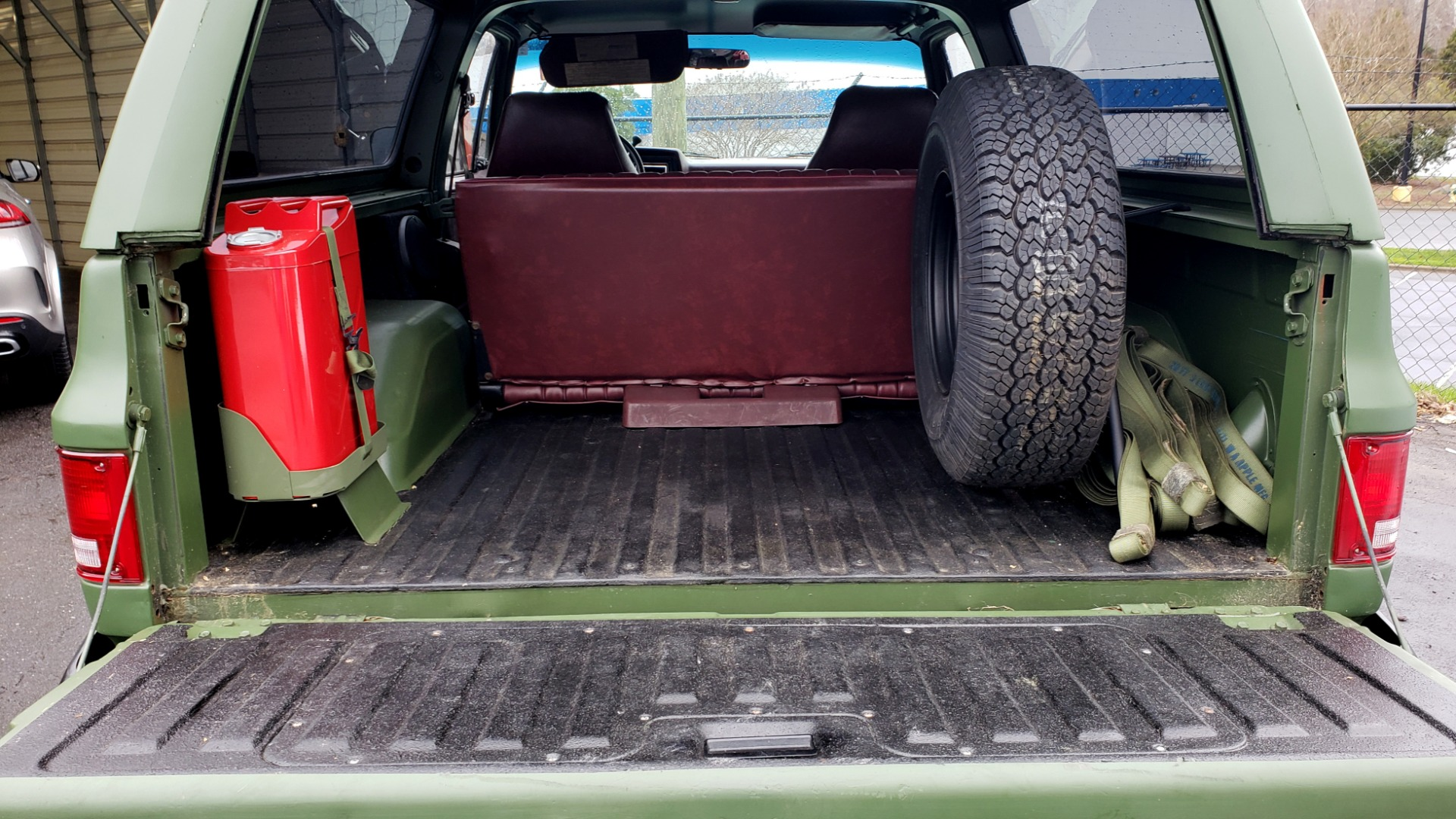 Used 1985 Chevrolet BLAZER D10 MILITARY SUV / 4X4 / 6.2L DIESEL V8 / VINTAGE AIR for sale $15,000 at Formula Imports in Charlotte NC 28227 50