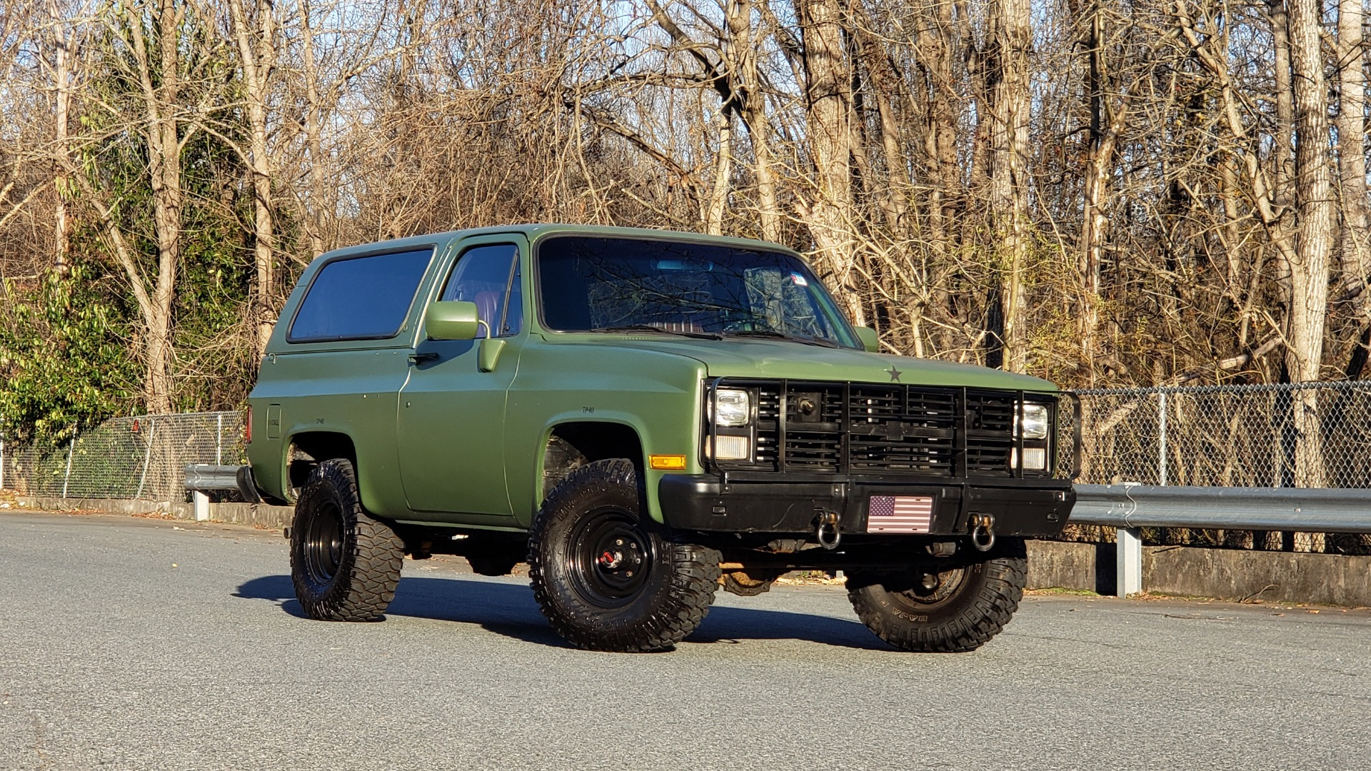 Used 1985 Chevrolet BLAZER D10 MILITARY SUV / 4X4 / 6.2L DIESEL V8 / VINTAGE AIR for sale $15,000 at Formula Imports in Charlotte NC 28227 7