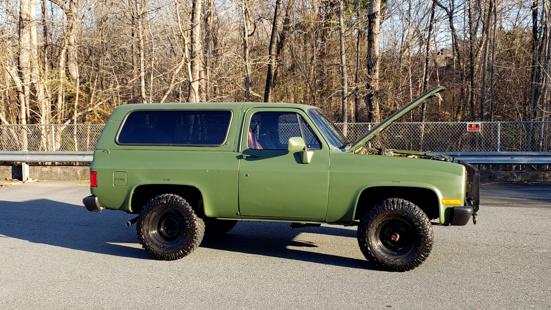Used 1985 Chevrolet BLAZER D10 MILITARY SUV / 4X4 / 6.2L DIESEL V8 / VINTAGE AIR for sale $15,000 at Formula Imports in Charlotte NC 28227 9