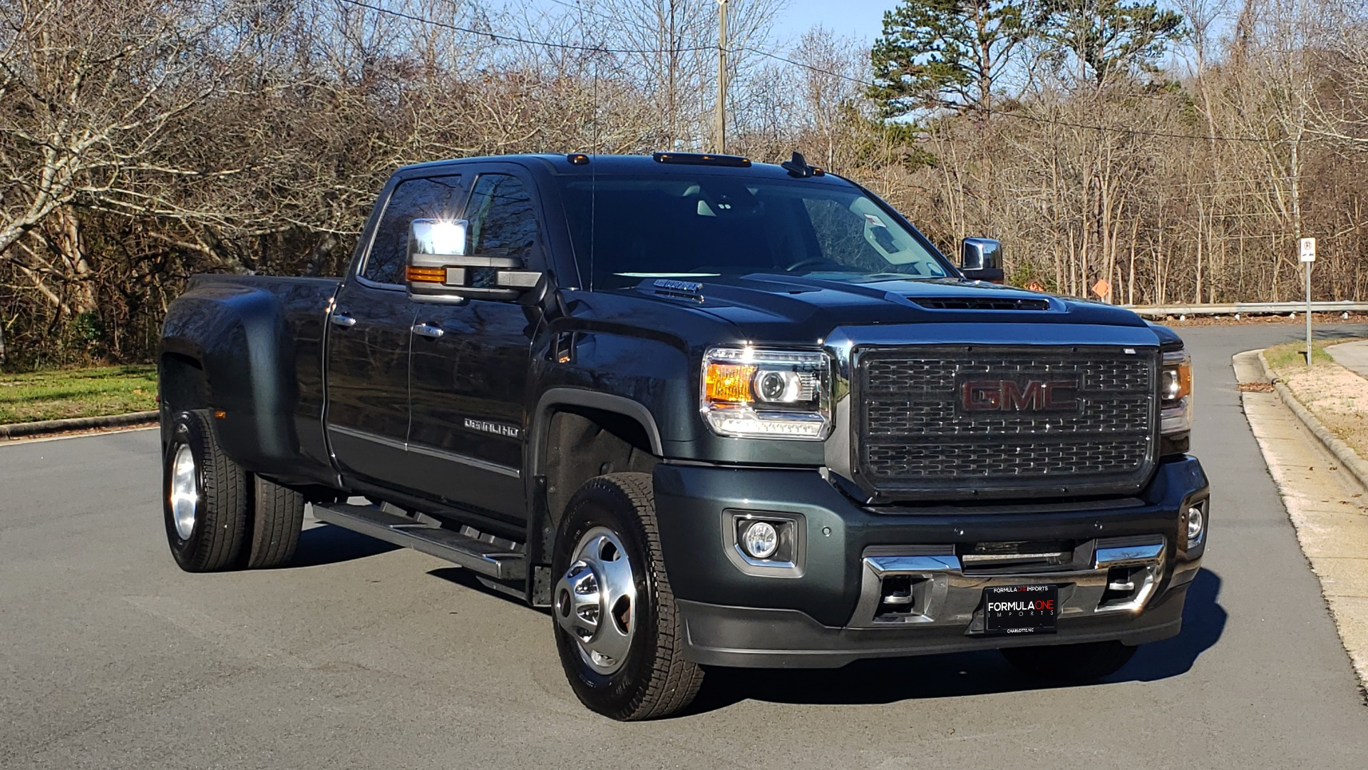 Used 2018 GMC SIERRA 3500HD DENALI 4X4 DUALLY / 6.6L DURAMAX PLUS / NAV / SUNROOF / REARVIEW for sale Sold at Formula Imports in Charlotte NC 28227 8