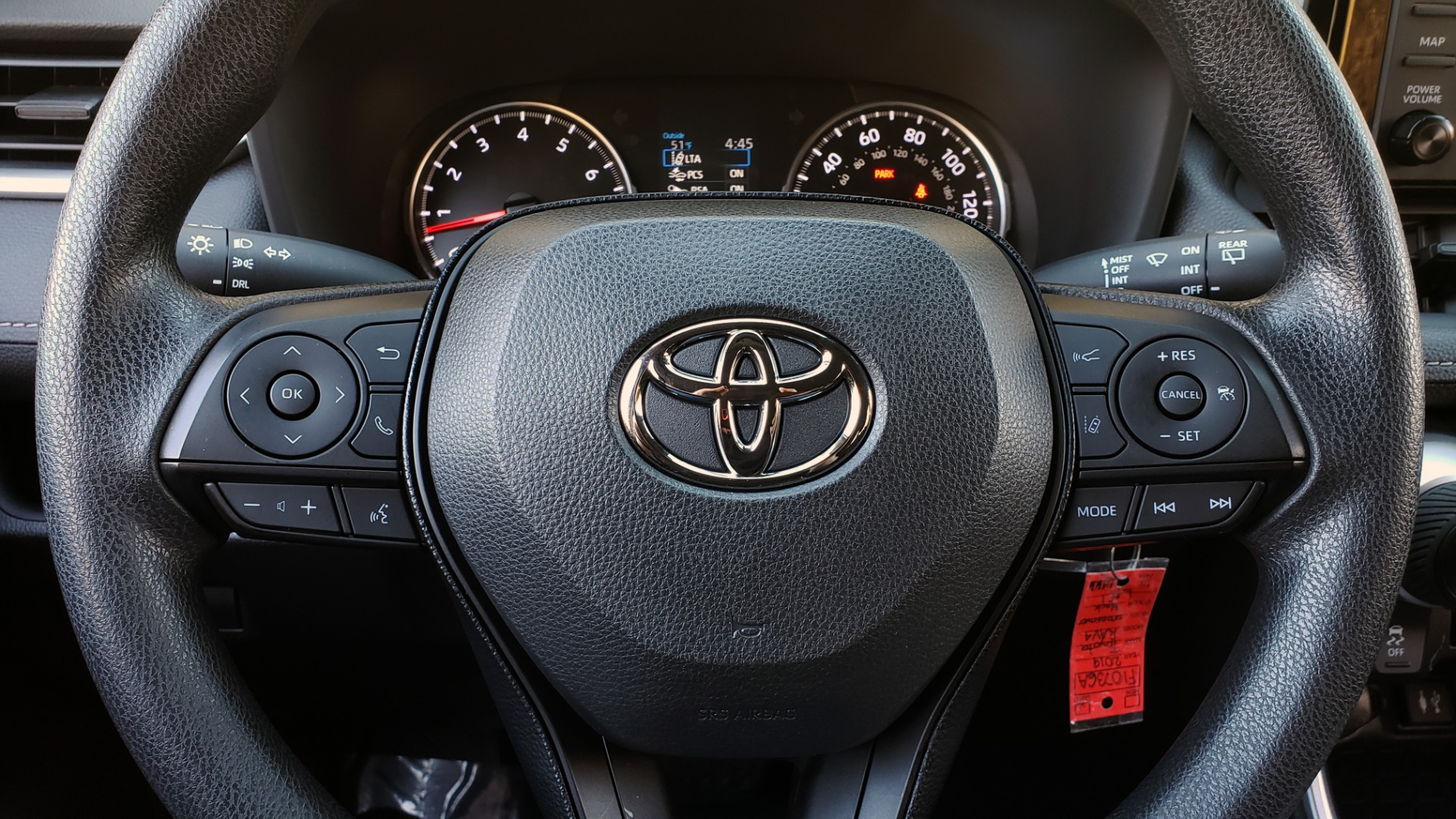 Used 2019 Toyota RAV4 LE / 2.5L I4 / 8-SPEED AUTO / LTA / PCS / RSA / REARVIEW for sale Sold at Formula Imports in Charlotte NC 28227 36
