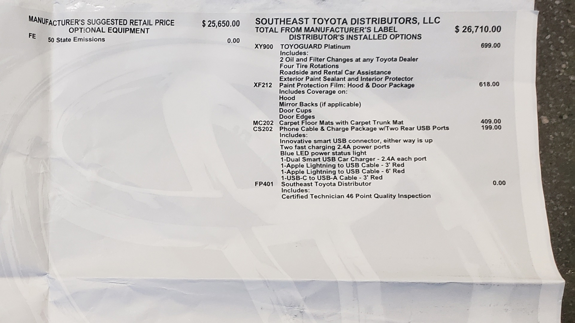 Used 2019 Toyota RAV4 LE / 2.5L I4 / 8-SPEED AUTO / LTA / PCS / RSA / REARVIEW for sale Sold at Formula Imports in Charlotte NC 28227 84
