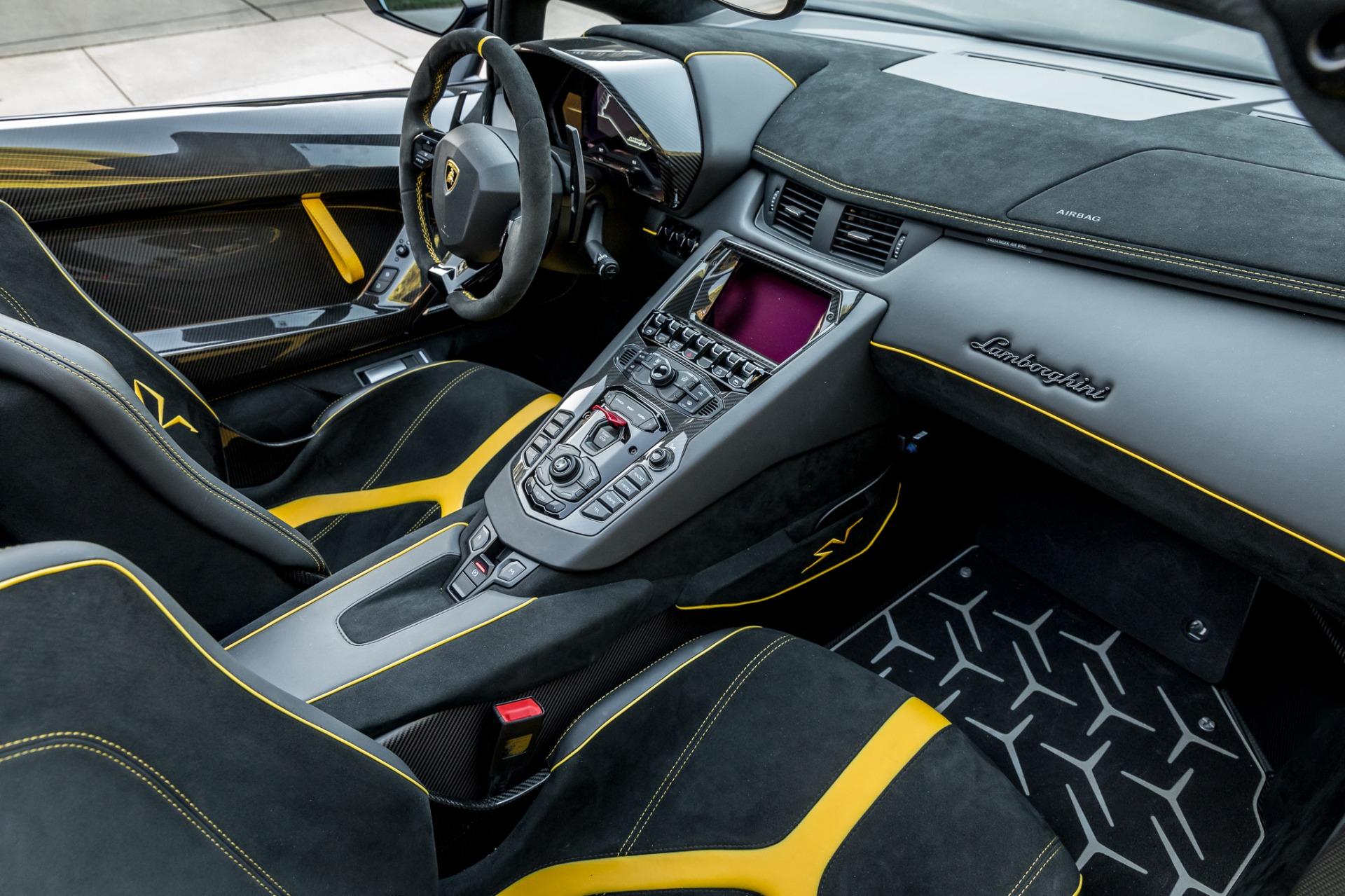 Used 2017 Lamborghini Aventador LP 750-4 SV / 740HP / AWD / 1930 MI / NAV / CAMERA for sale Sold at Formula Imports in Charlotte NC 28227 14