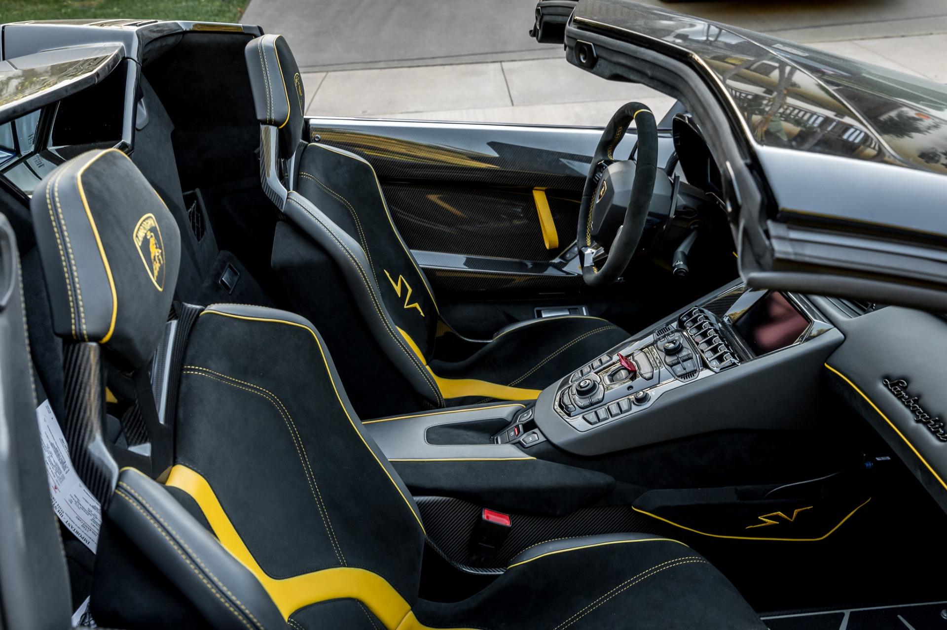 Used 2017 Lamborghini Aventador LP 750-4 SV / 740HP / AWD / 1930 MI / NAV / CAMERA for sale Sold at Formula Imports in Charlotte NC 28227 15