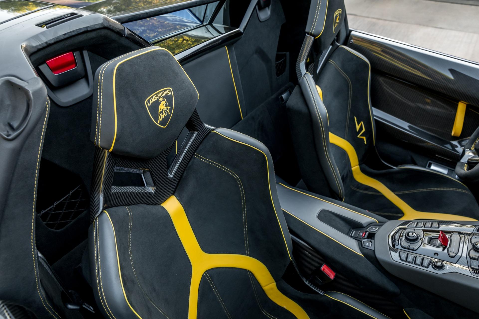 Used 2017 Lamborghini Aventador LP 750-4 SV / 740HP / AWD / 1930 MI / NAV / CAMERA for sale Sold at Formula Imports in Charlotte NC 28227 16