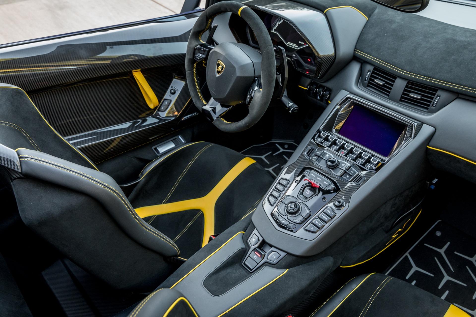 Used 2017 Lamborghini Aventador LP 750-4 SV / 740HP / AWD / 1930 MI / NAV / CAMERA for sale Sold at Formula Imports in Charlotte NC 28227 17
