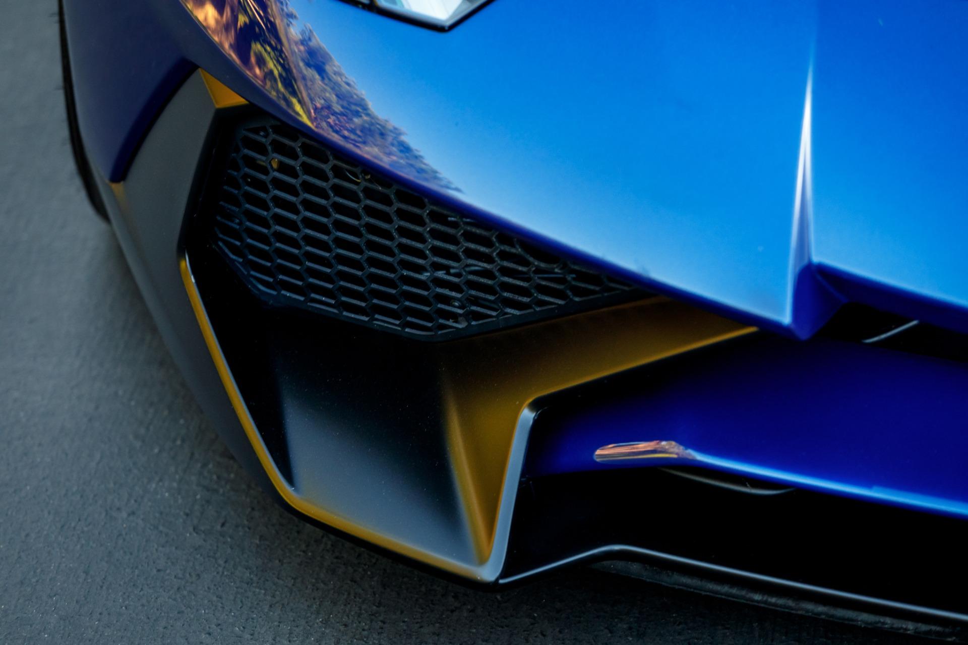 Used 2017 Lamborghini Aventador LP 750-4 SV / 740HP / AWD / 1930 MI / NAV / CAMERA for sale Sold at Formula Imports in Charlotte NC 28227 34