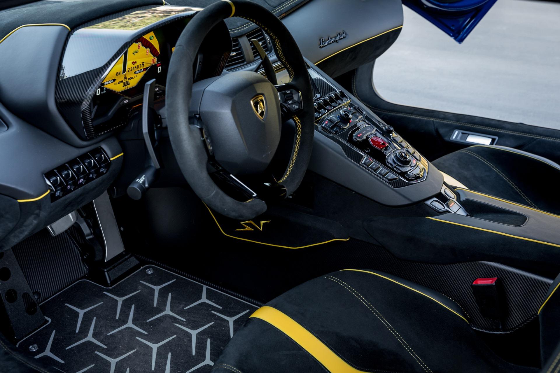 Used 2017 Lamborghini Aventador LP 750-4 SV / 740HP / AWD / 1930 MI / NAV / CAMERA for sale Sold at Formula Imports in Charlotte NC 28227 54