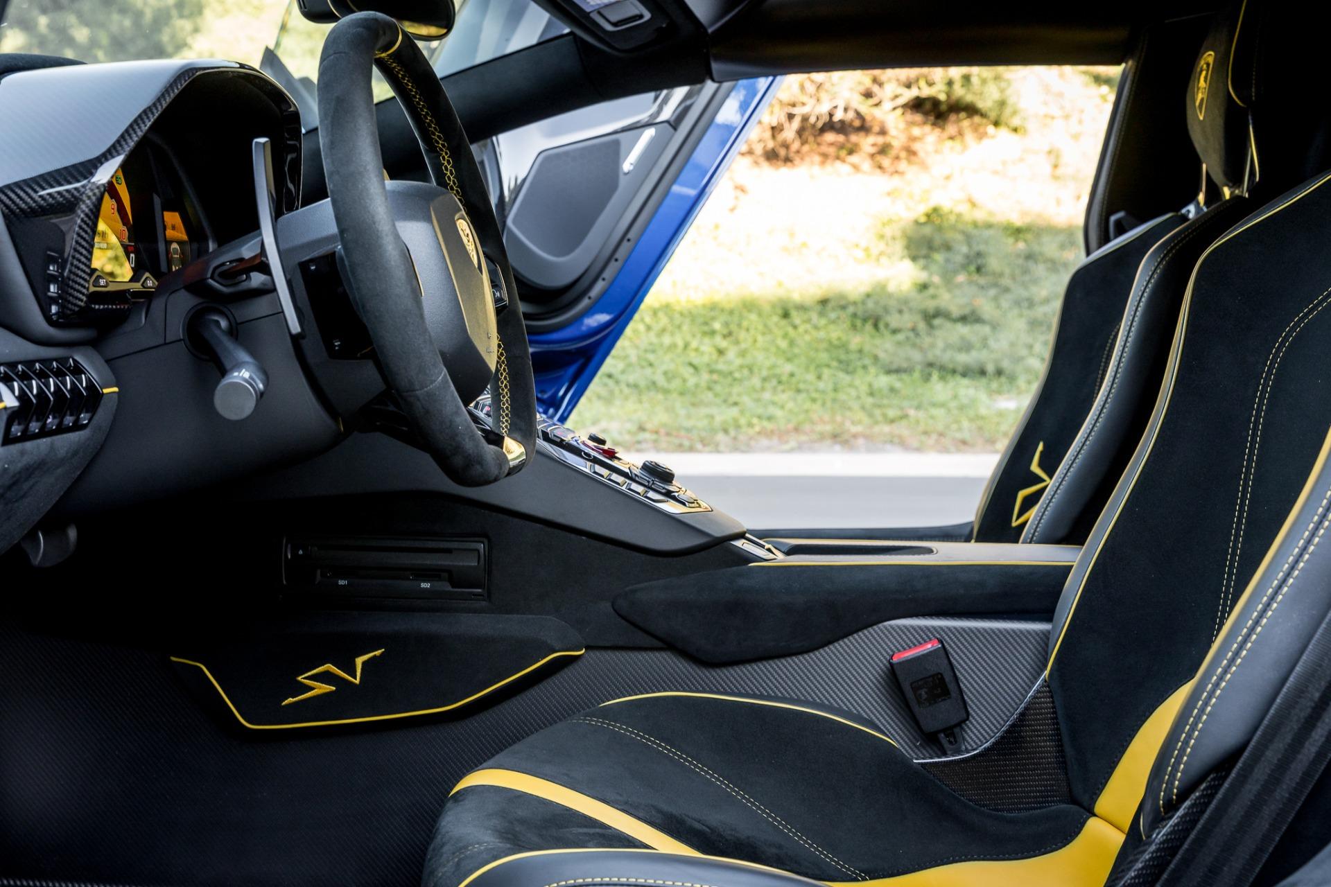 Used 2017 Lamborghini Aventador LP 750-4 SV / 740HP / AWD / 1930 MI / NAV / CAMERA for sale Sold at Formula Imports in Charlotte NC 28227 55