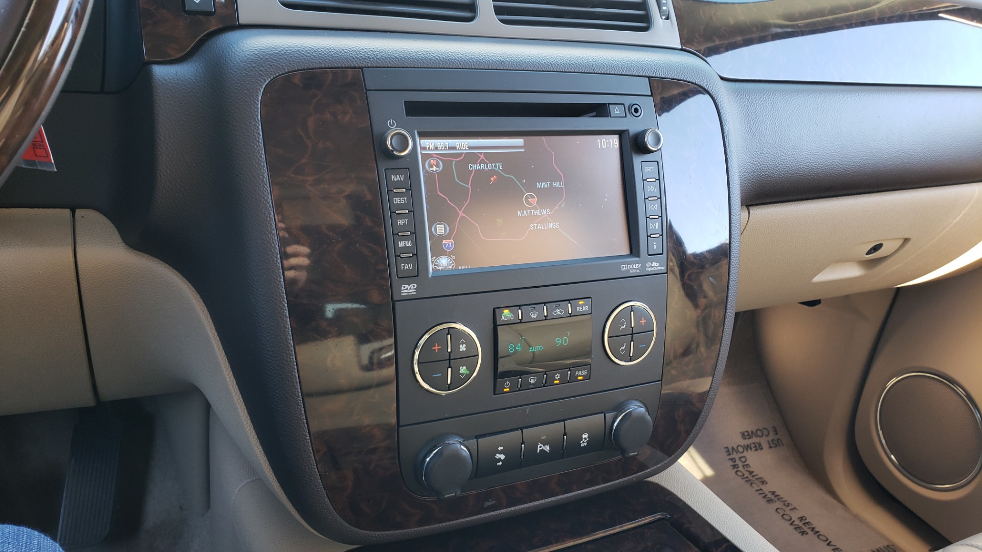 Used 2013 GMC YUKON XL DENALI / AWD / NAV / SUNROOF / 3-ROW / ENTERTAINMENT for sale Sold at Formula Imports in Charlotte NC 28227 45