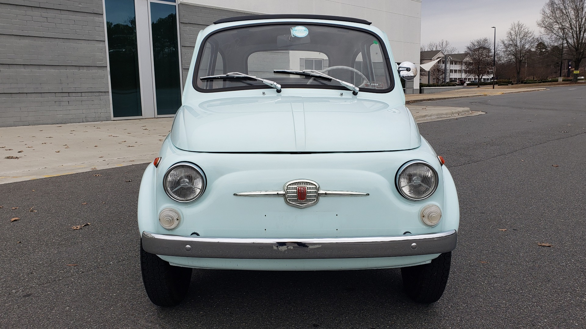 Used 1968 FIAT 500 NUOVA / SOFT-TOP / LUGGAGE RACK / RESTORED, LIKE NEW for sale $21,900 at Formula Imports in Charlotte NC 28227 12