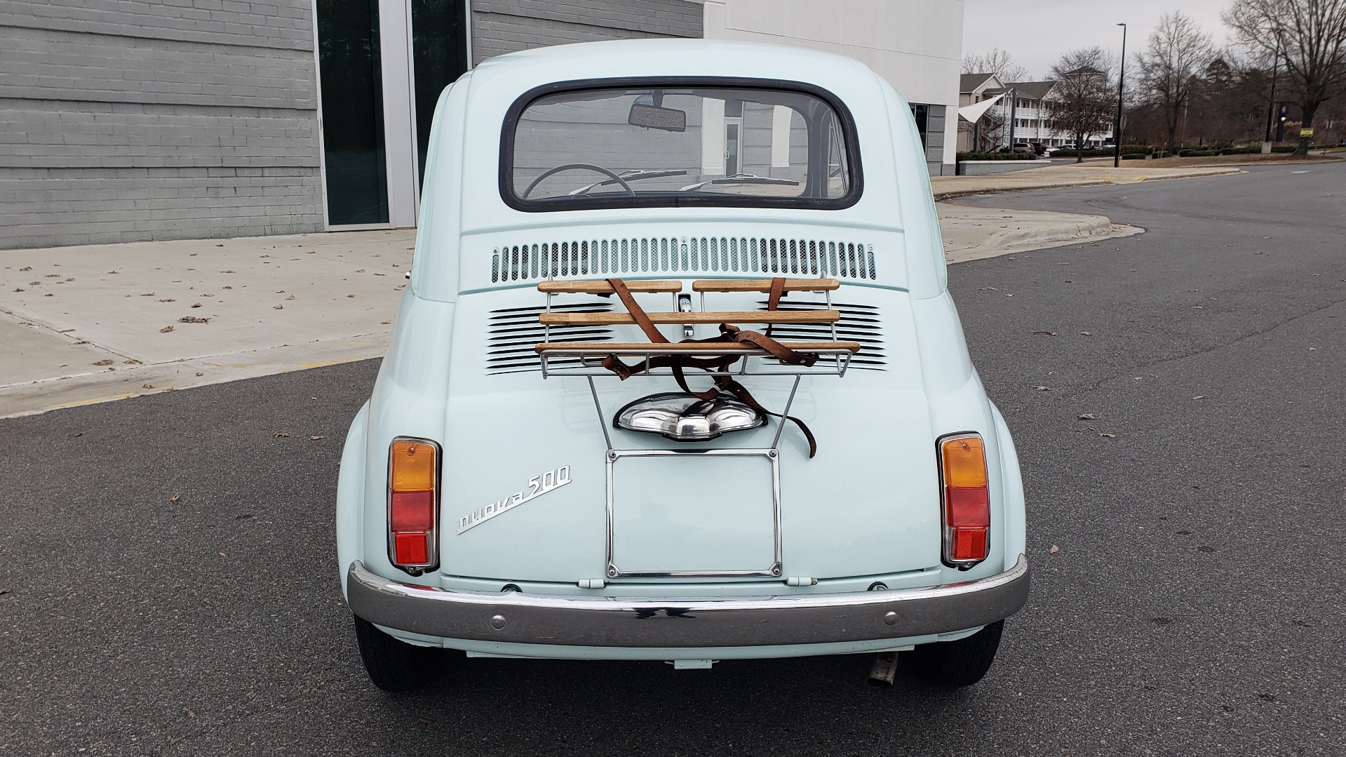 Used 1968 FIAT 500 NUOVA / SOFT-TOP / LUGGAGE RACK / RESTORED, LIKE NEW for sale $21,900 at Formula Imports in Charlotte NC 28227 15