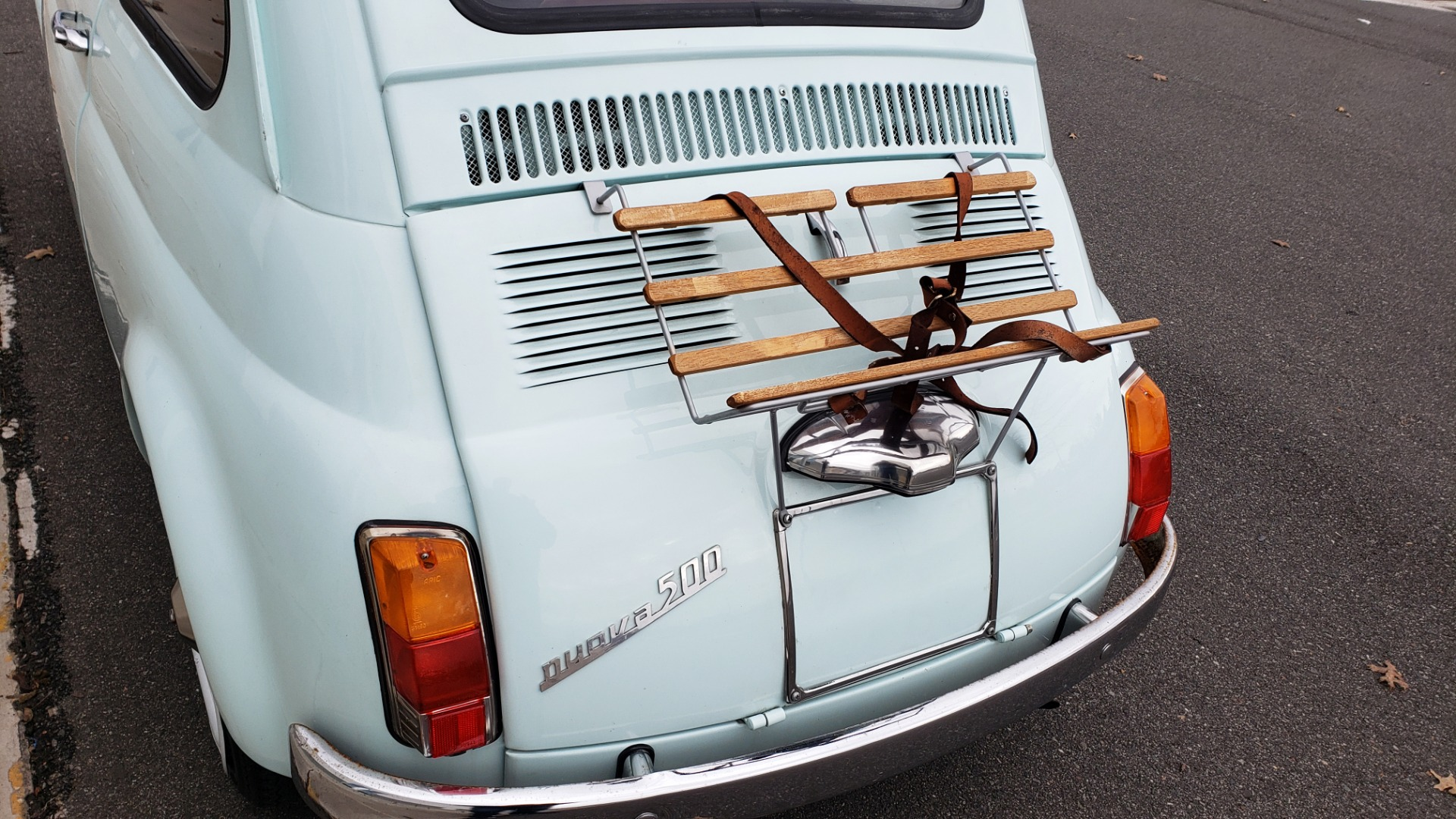 Used 1968 FIAT 500 NUOVA / SOFT-TOP / LUGGAGE RACK / RESTORED, LIKE NEW for sale $21,900 at Formula Imports in Charlotte NC 28227 16