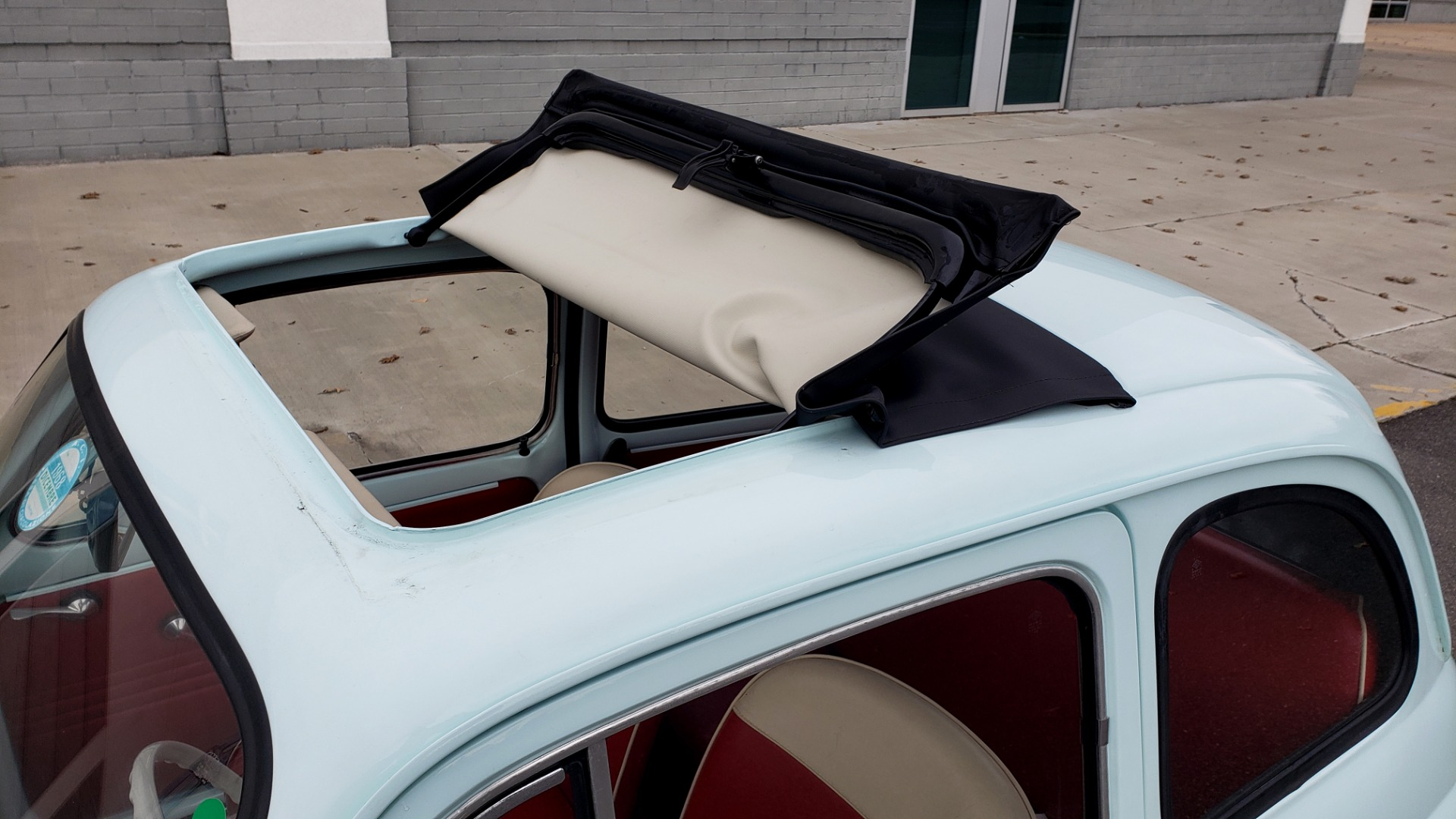 Used 1968 FIAT 500 NUOVA / SOFT-TOP / LUGGAGE RACK / RESTORED, LIKE NEW for sale $21,900 at Formula Imports in Charlotte NC 28227 20