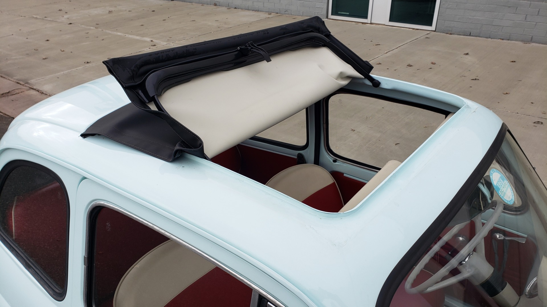 Used 1968 FIAT 500 NUOVA / SOFT-TOP / LUGGAGE RACK / RESTORED, LIKE NEW for sale $21,900 at Formula Imports in Charlotte NC 28227 27