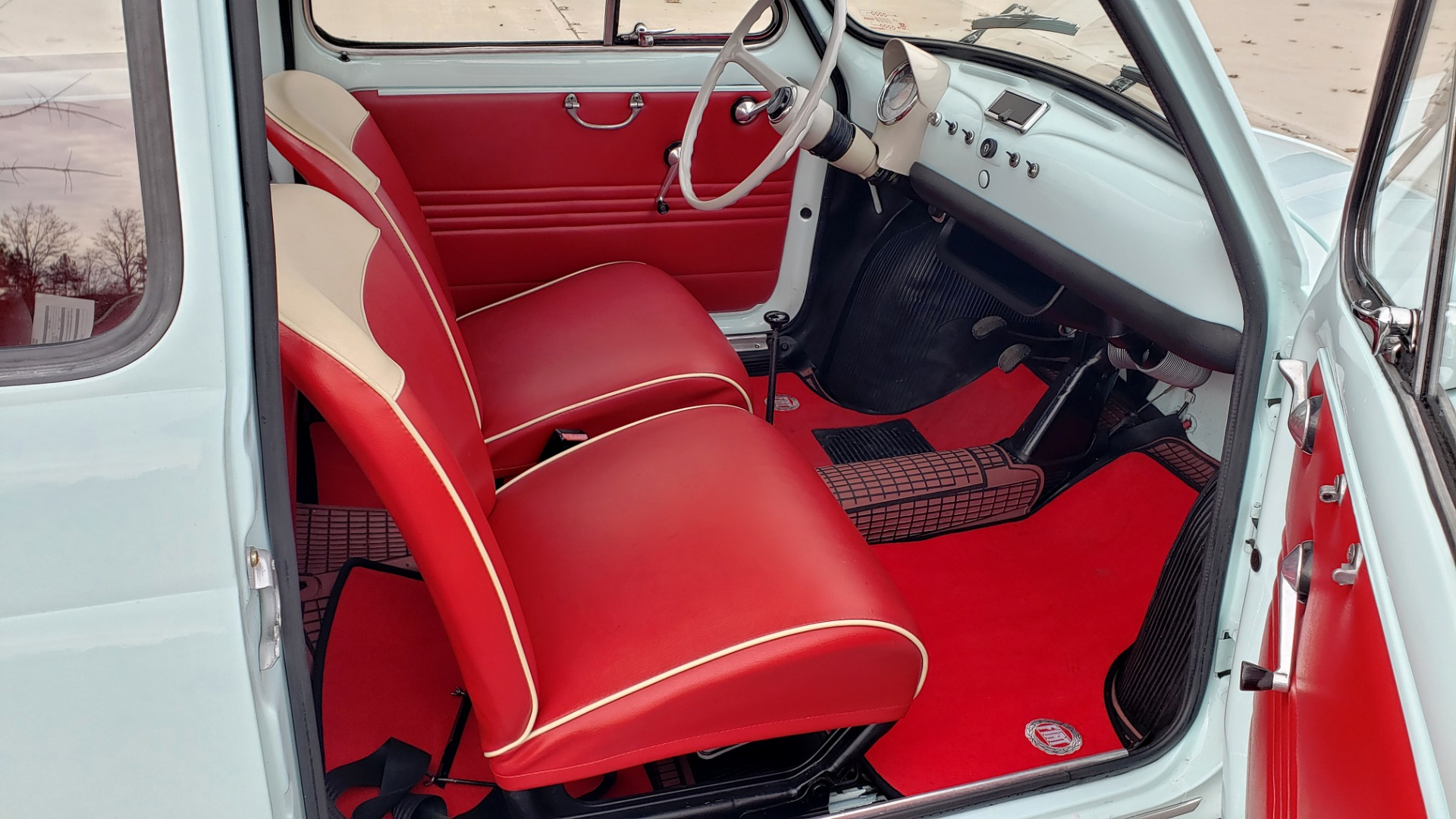 Used 1968 FIAT 500 NUOVA / SOFT-TOP / LUGGAGE RACK / RESTORED, LIKE NEW for sale $21,900 at Formula Imports in Charlotte NC 28227 29