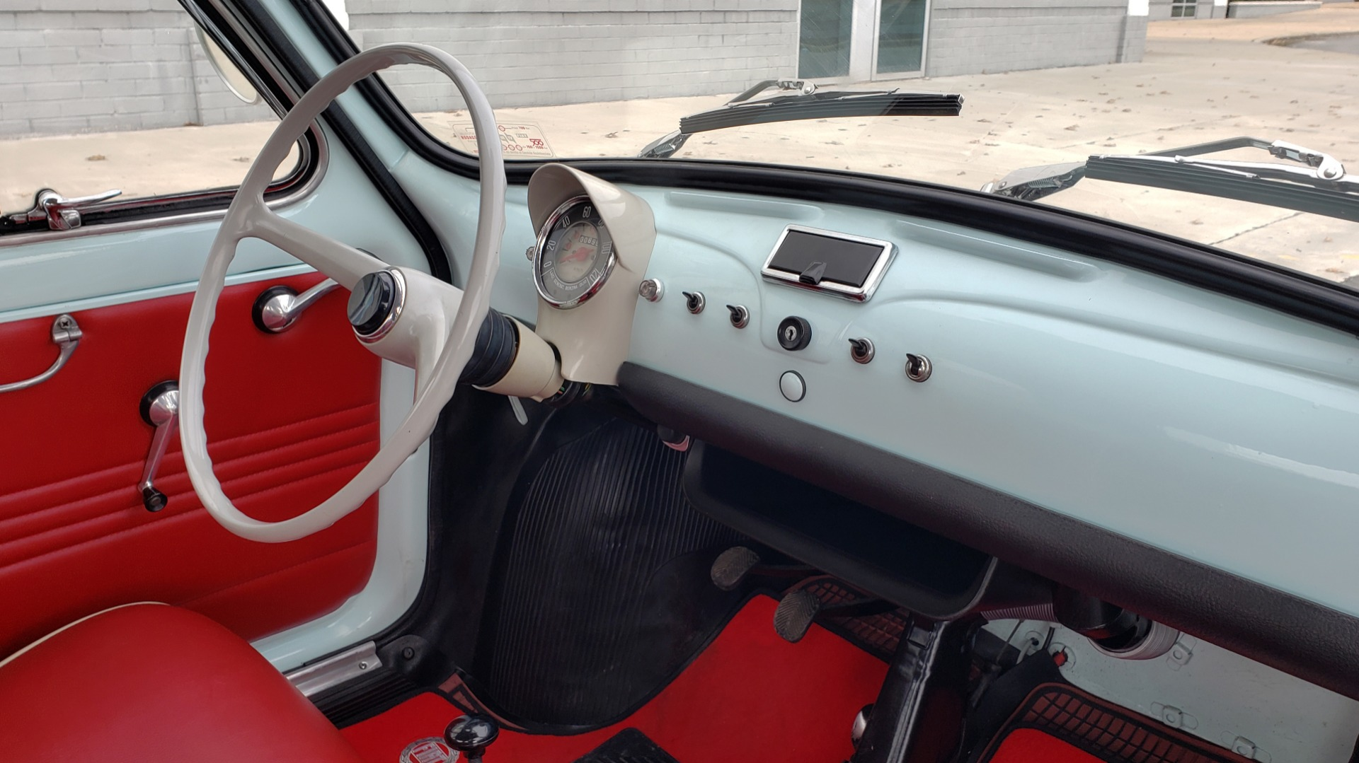Used 1968 FIAT 500 NUOVA / SOFT-TOP / LUGGAGE RACK / RESTORED, LIKE NEW for sale $21,900 at Formula Imports in Charlotte NC 28227 34