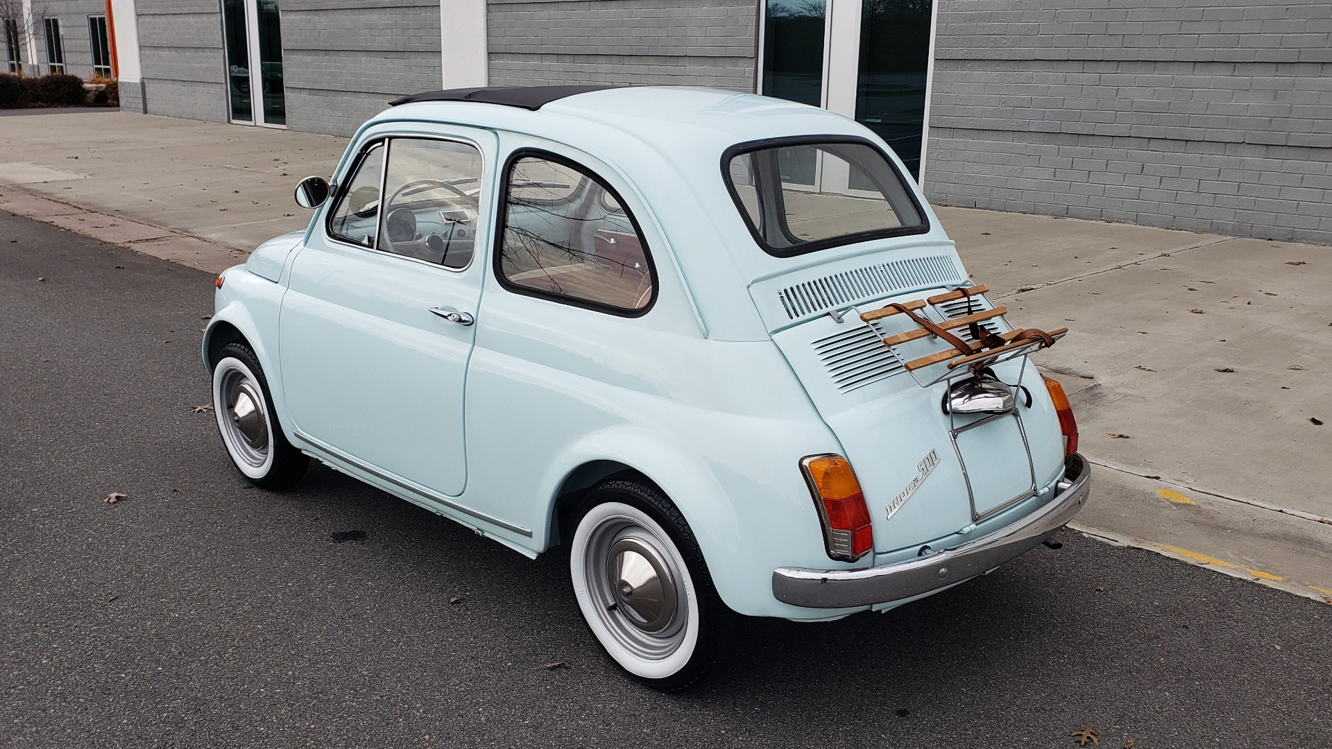 Used 1968 FIAT 500 NUOVA / SOFT-TOP / LUGGAGE RACK / RESTORED, LIKE NEW for sale $21,900 at Formula Imports in Charlotte NC 28227 4