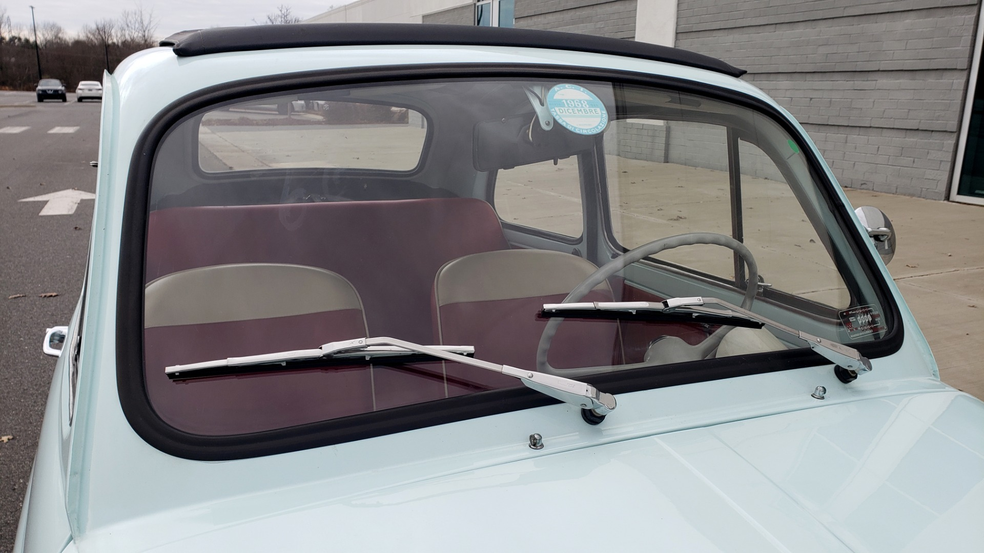 Used 1968 FIAT 500 NUOVA / SOFT-TOP / LUGGAGE RACK / RESTORED, LIKE NEW for sale $21,900 at Formula Imports in Charlotte NC 28227 40