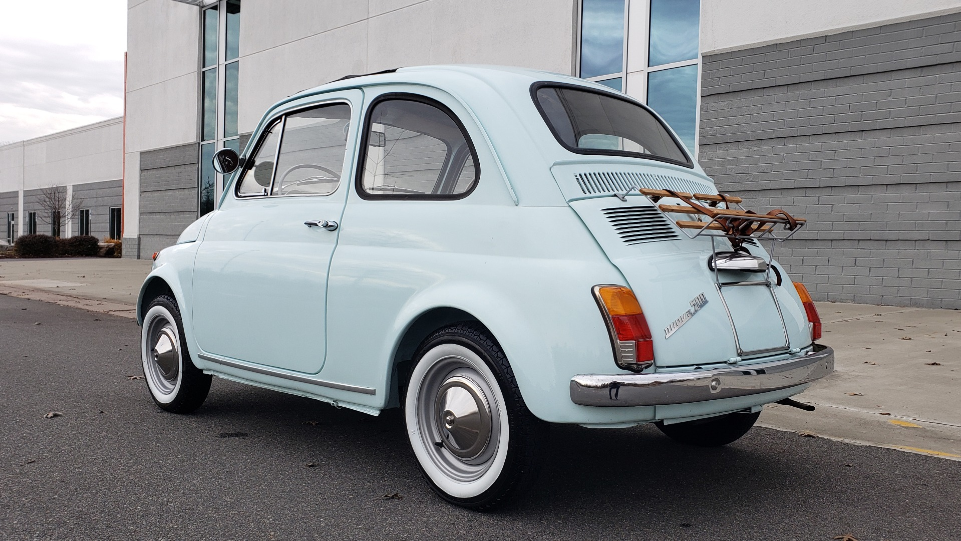 Used 1968 FIAT 500 NUOVA / SOFT-TOP / LUGGAGE RACK / RESTORED, LIKE NEW for sale $21,900 at Formula Imports in Charlotte NC 28227 5