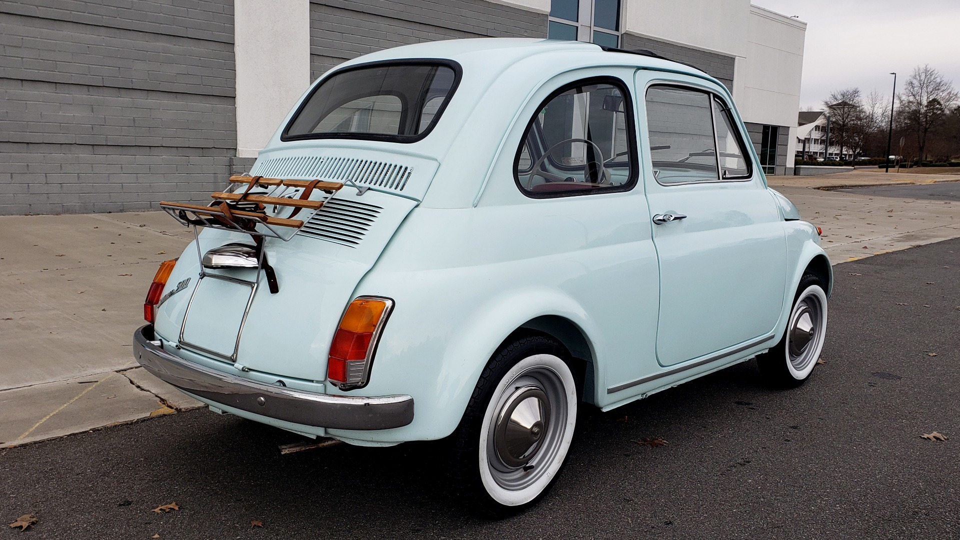 Used 1968 FIAT 500 NUOVA / SOFT-TOP / LUGGAGE RACK / RESTORED, LIKE NEW for sale $21,900 at Formula Imports in Charlotte NC 28227 6