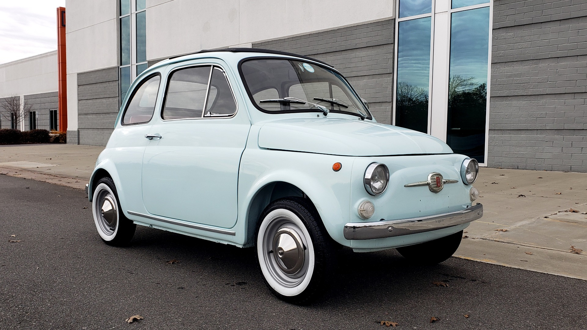 Used 1968 FIAT 500 NUOVA / SOFT-TOP / LUGGAGE RACK / RESTORED, LIKE NEW for sale $21,900 at Formula Imports in Charlotte NC 28227 8