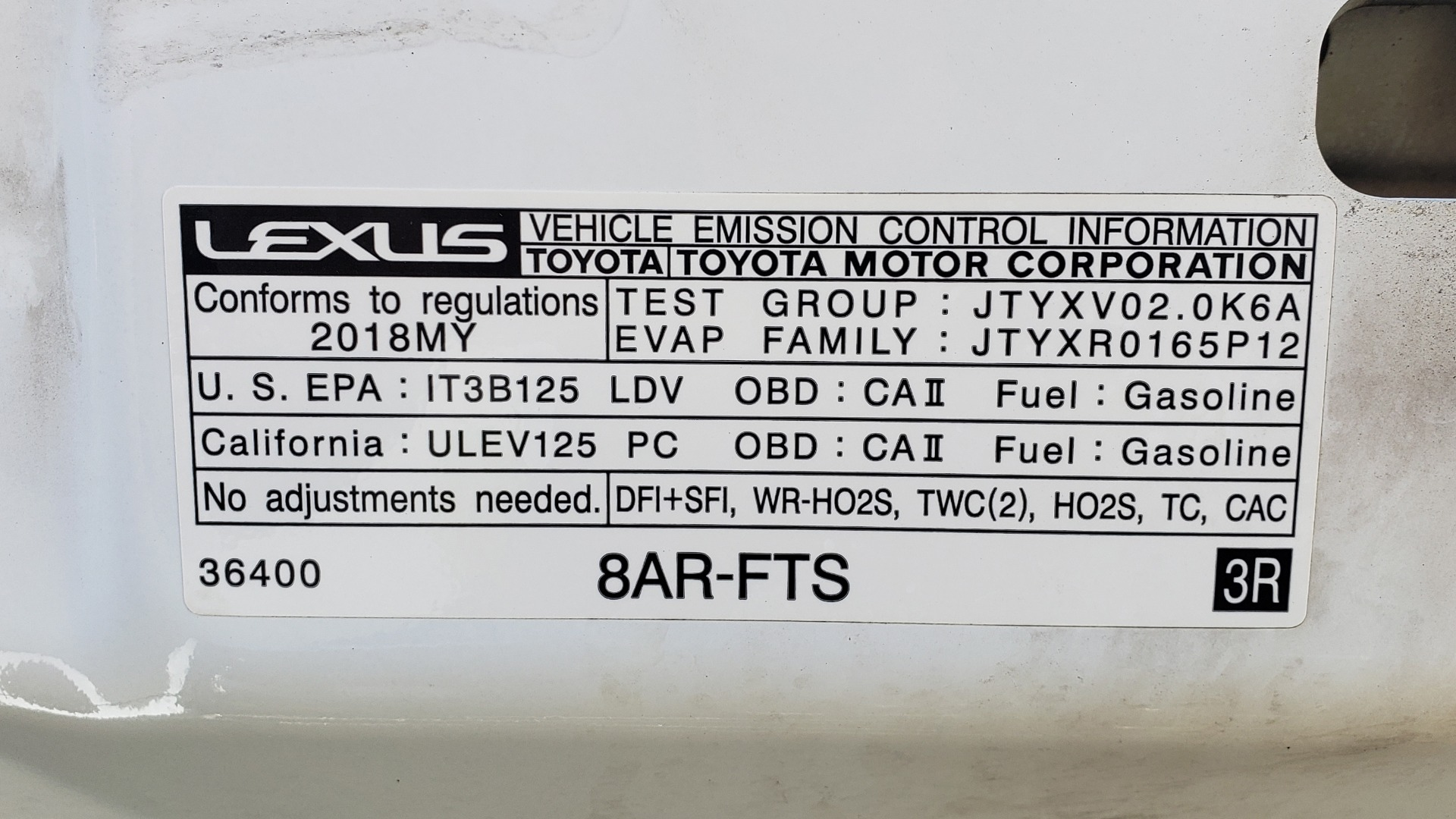 Used 2018 Lexus IS 300 F-SPORT / BSM / SUNROOF / REARVIEW / 18IN WHEELS for sale Sold at Formula Imports in Charlotte NC 28227 13