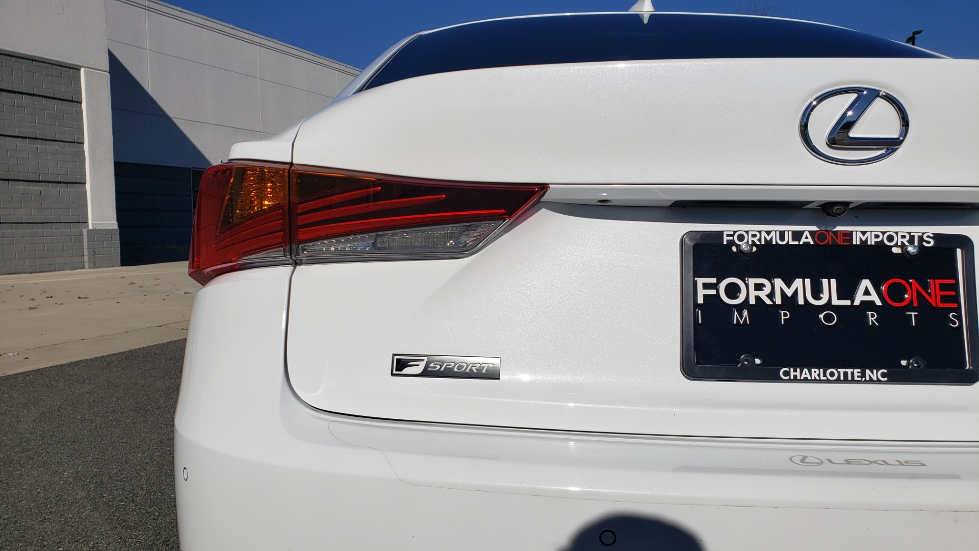 Used 2018 Lexus IS 300 F-SPORT / BSM / SUNROOF / REARVIEW / 18IN WHEELS for sale Sold at Formula Imports in Charlotte NC 28227 20