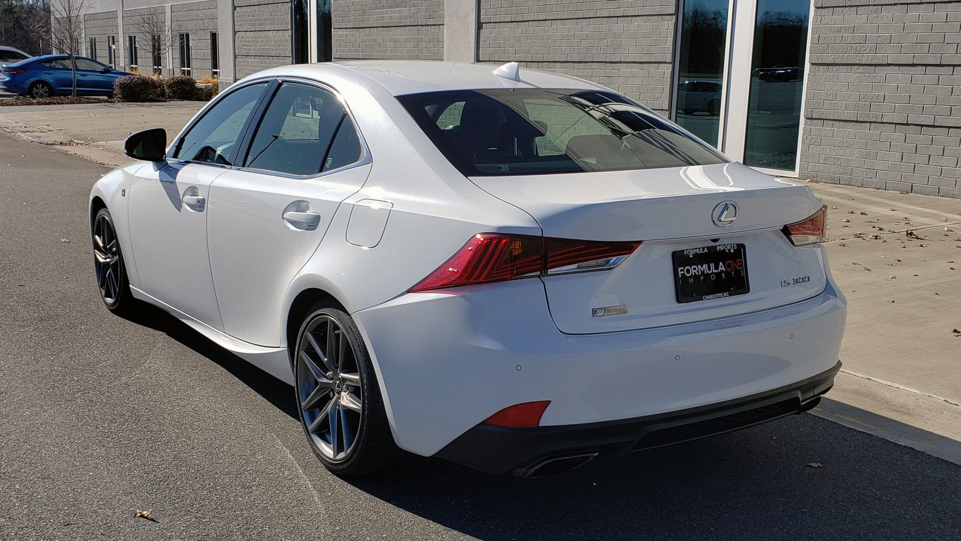 Used 2018 Lexus IS 300 F-SPORT / BSM / SUNROOF / REARVIEW / 18IN WHEELS for sale Sold at Formula Imports in Charlotte NC 28227 3