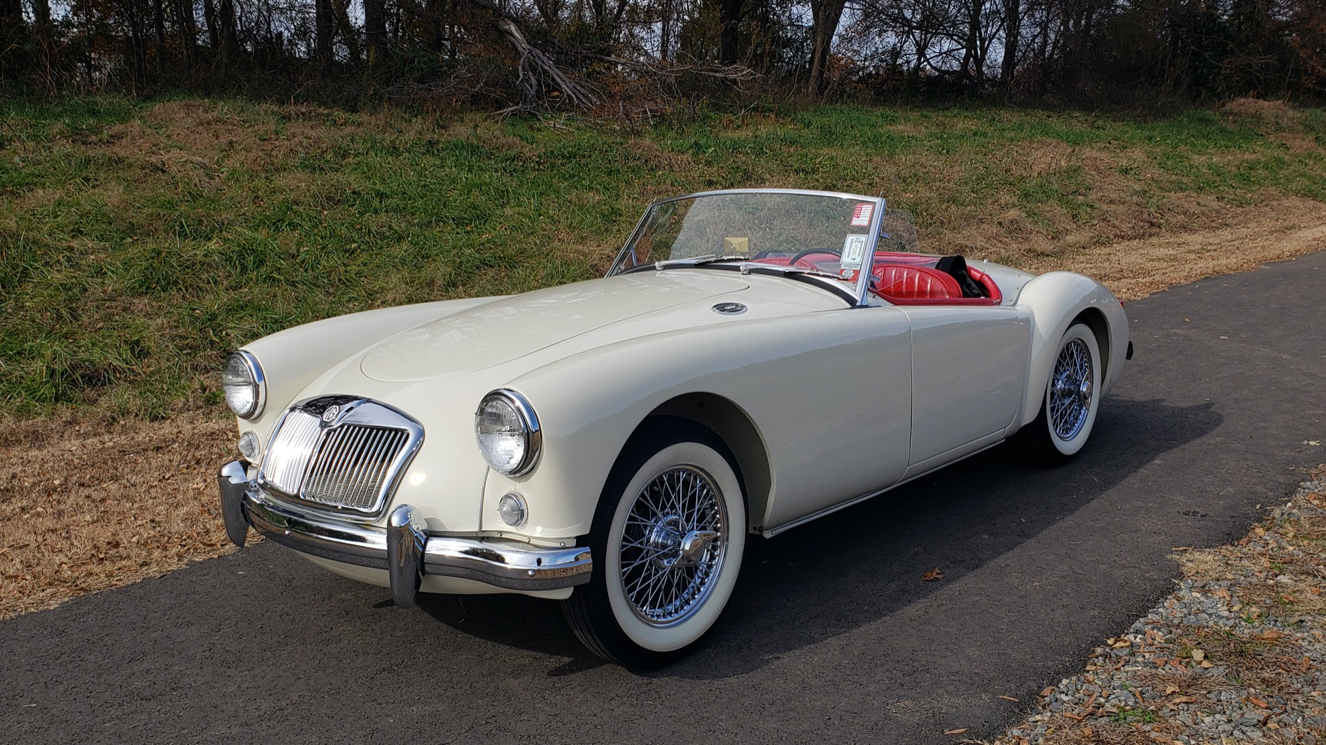 Used 1956 MG A ROADSTER / 4-SPD MAN / FULLY RESTORED / ALL NEW for sale $33,950 at Formula Imports in Charlotte NC 28227 11